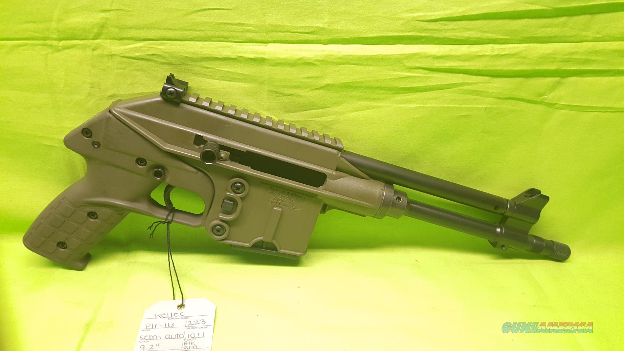 KELTEC KEL TEC PLR16 PLR 16 223 556 10RD GREEN ODG  Guns > Pistols > Kel-Tec Pistols > .223 Type