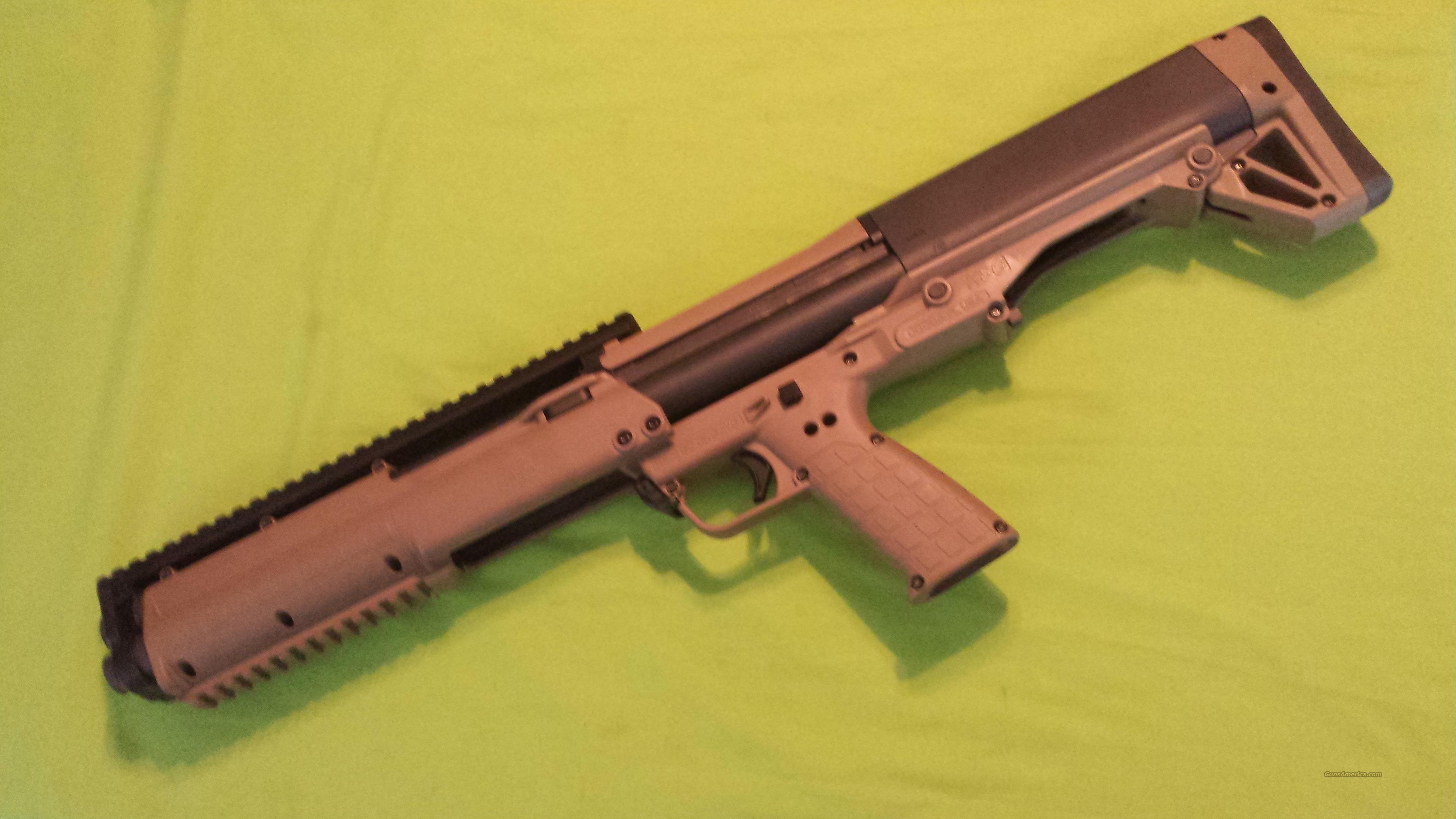 Kel Tec KELTEC KSG SHOTGUN 12GA 14 RDS TAN FDE  Guns > Shotguns > Kel-Tec Shotguns > KSG