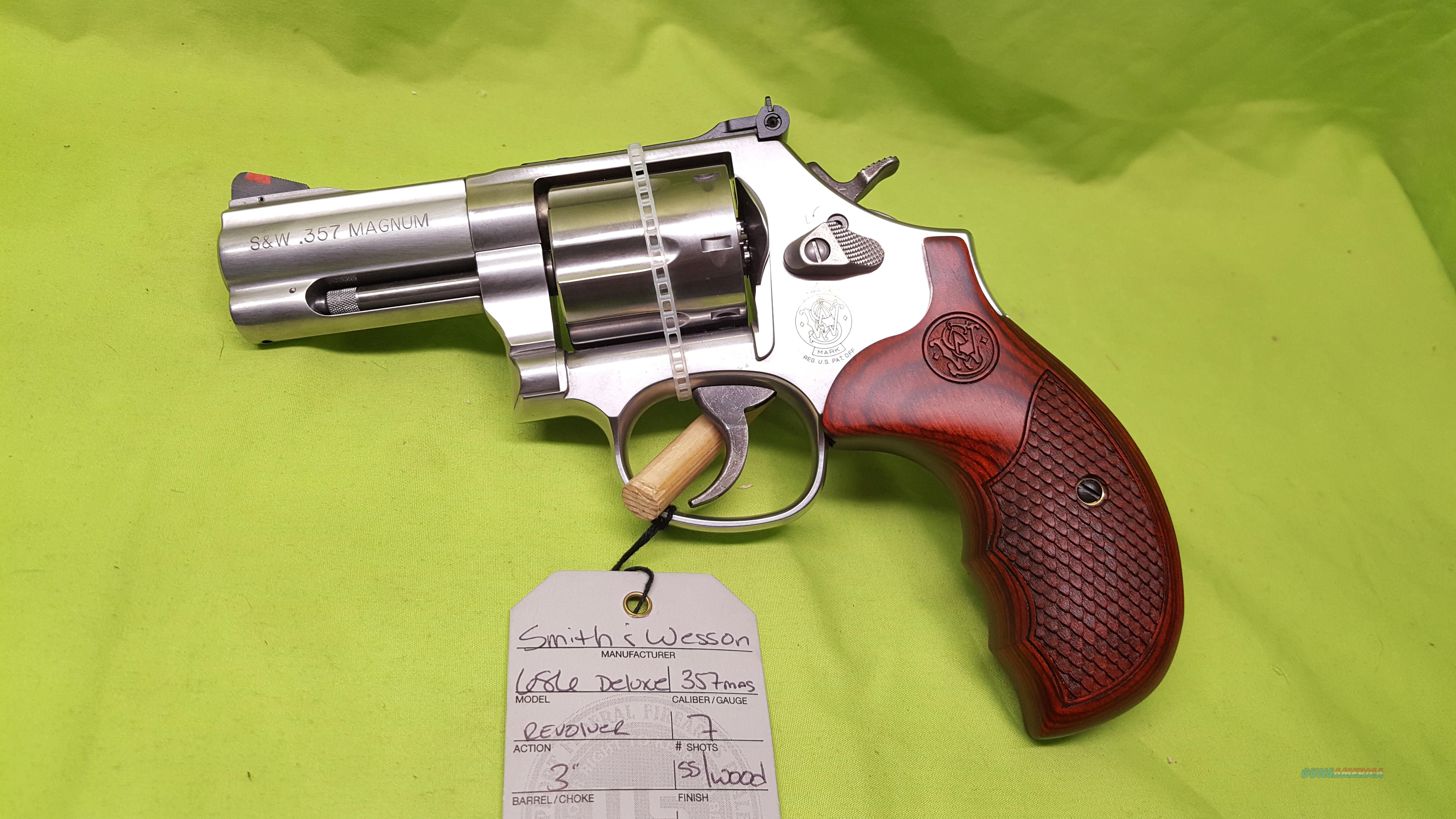 """SMITH AND WESSON S&W 686 DELUXE 357 MAG 3"""" 7 SHOT  Guns > Pistols > Smith & Wesson Revolvers > Performance Center"""