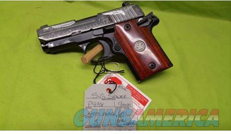 SIG P938 P 938 9MM 9 MM ESR 1911 NS 6RD ENGRAVED  Guns > Pistols > Sig - Sauer/Sigarms Pistols > P938