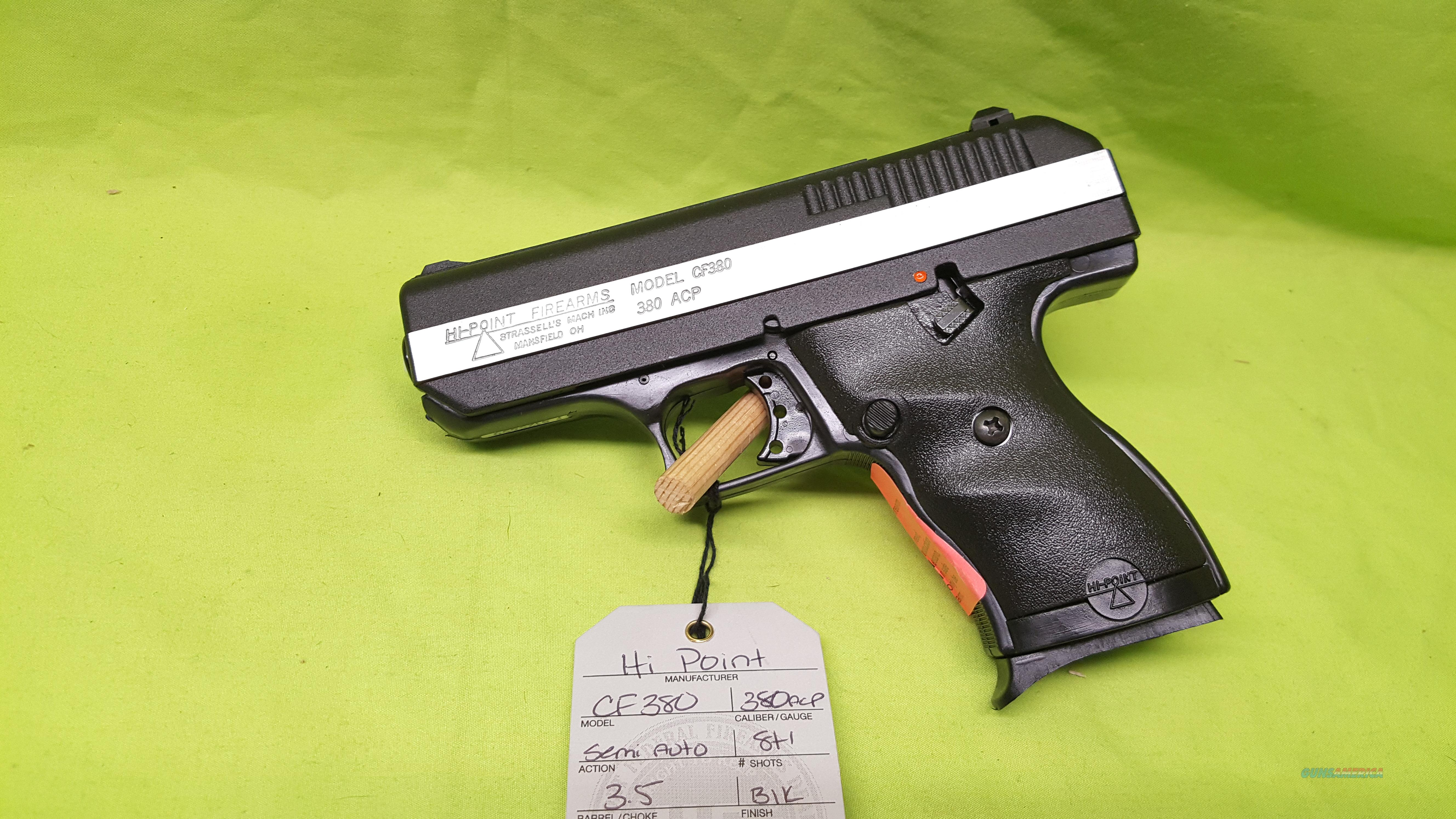 HI-POINT CF380 .380 ACP HI POINT CF 380 8+1 DUOTONE  Guns > Pistols > Hi Point Pistols