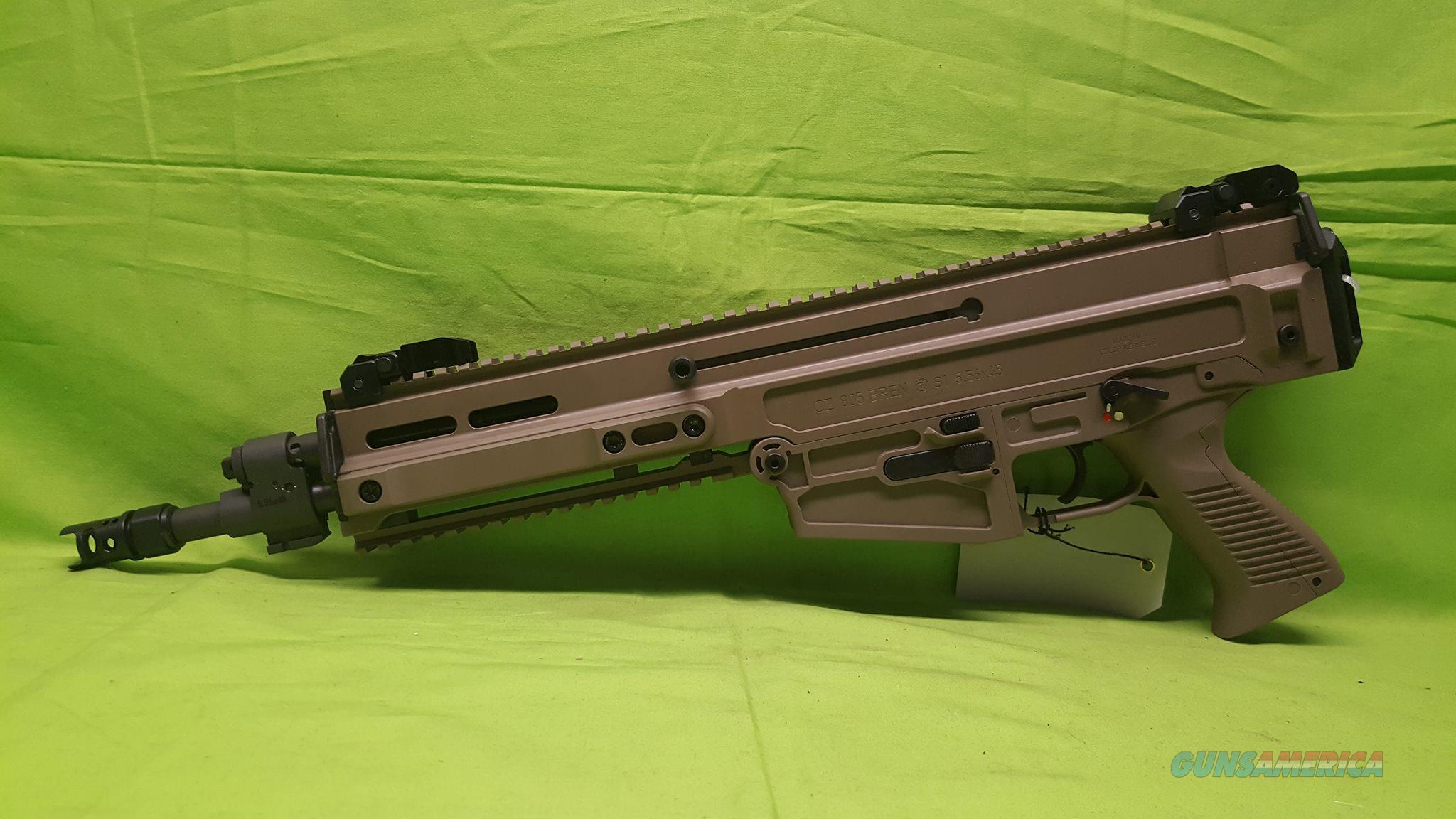 Штурмовая винтовка CZ 805 BREN (Чехия) смотреть