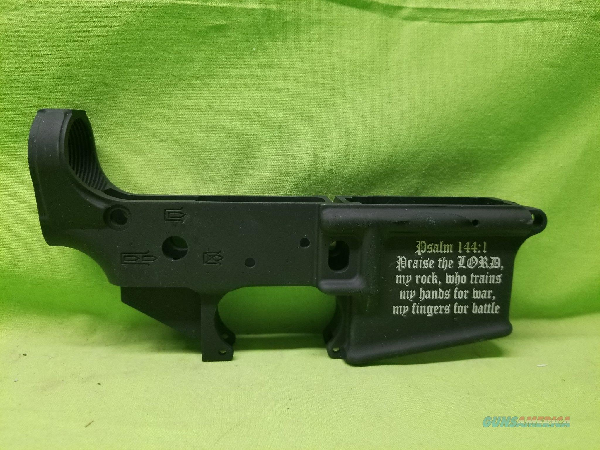 AA TACTICAL TAC-L WING STRIPPED LOWER PSALM 144:1  Guns > Rifles > AR-15 Rifles - Small Manufacturers > Lower Only