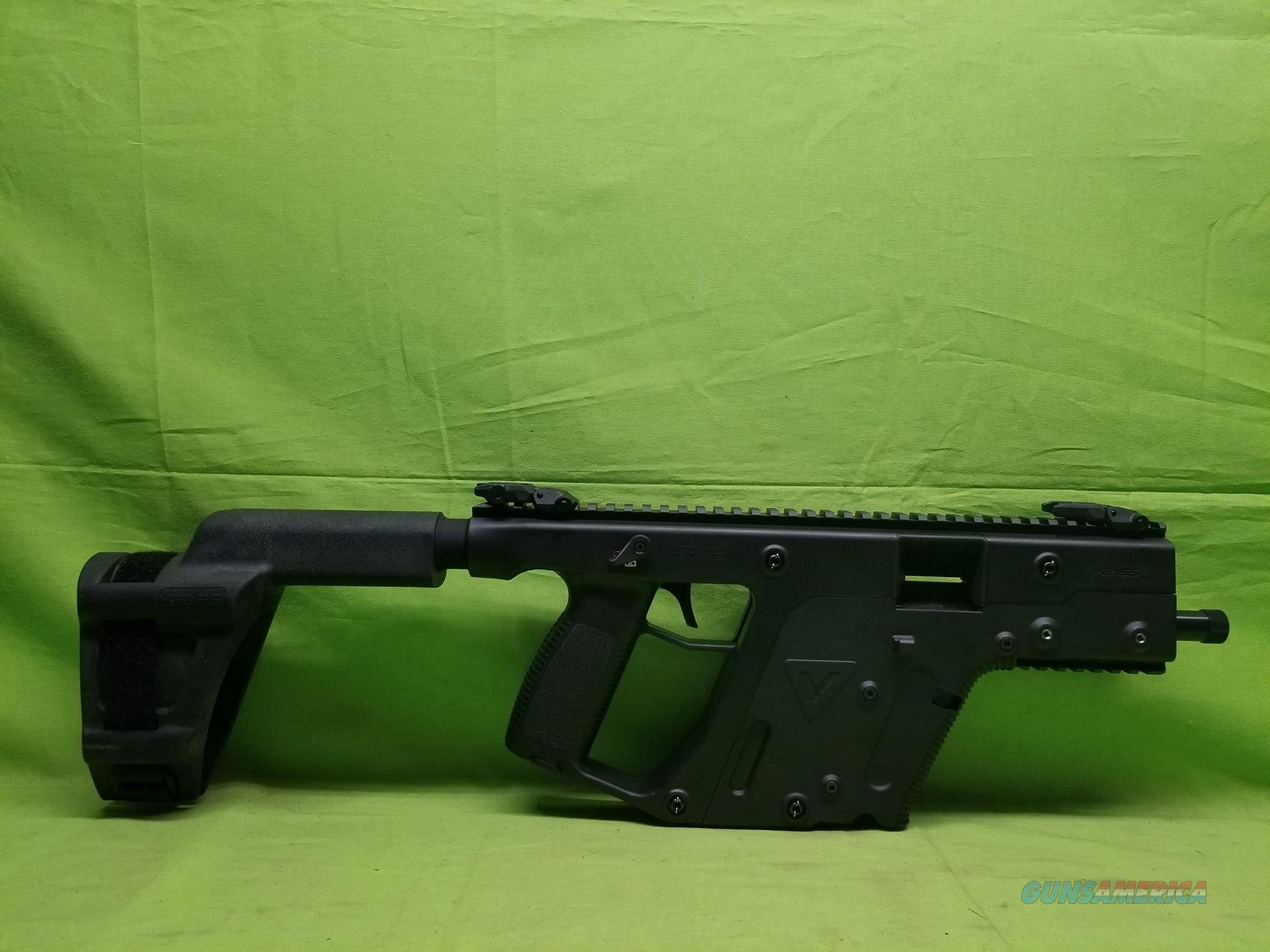 "KRISS VECTOR SDP SB 45 ACP 5.5"" BLACK WITH BRACE  Guns > Pistols > Kriss Tactical Pistols"