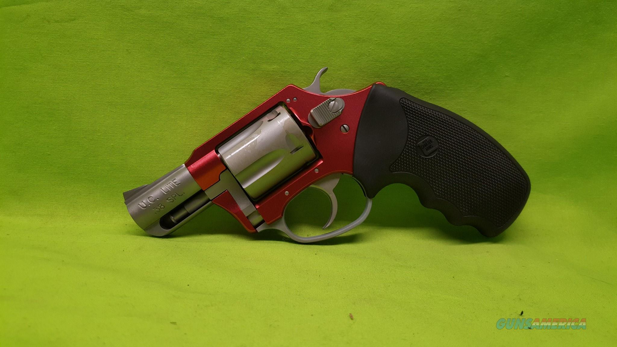 Charter Arms Undercover Lite RED SS .38 38SPL 38  Guns > Pistols > Charter Arms Revolvers
