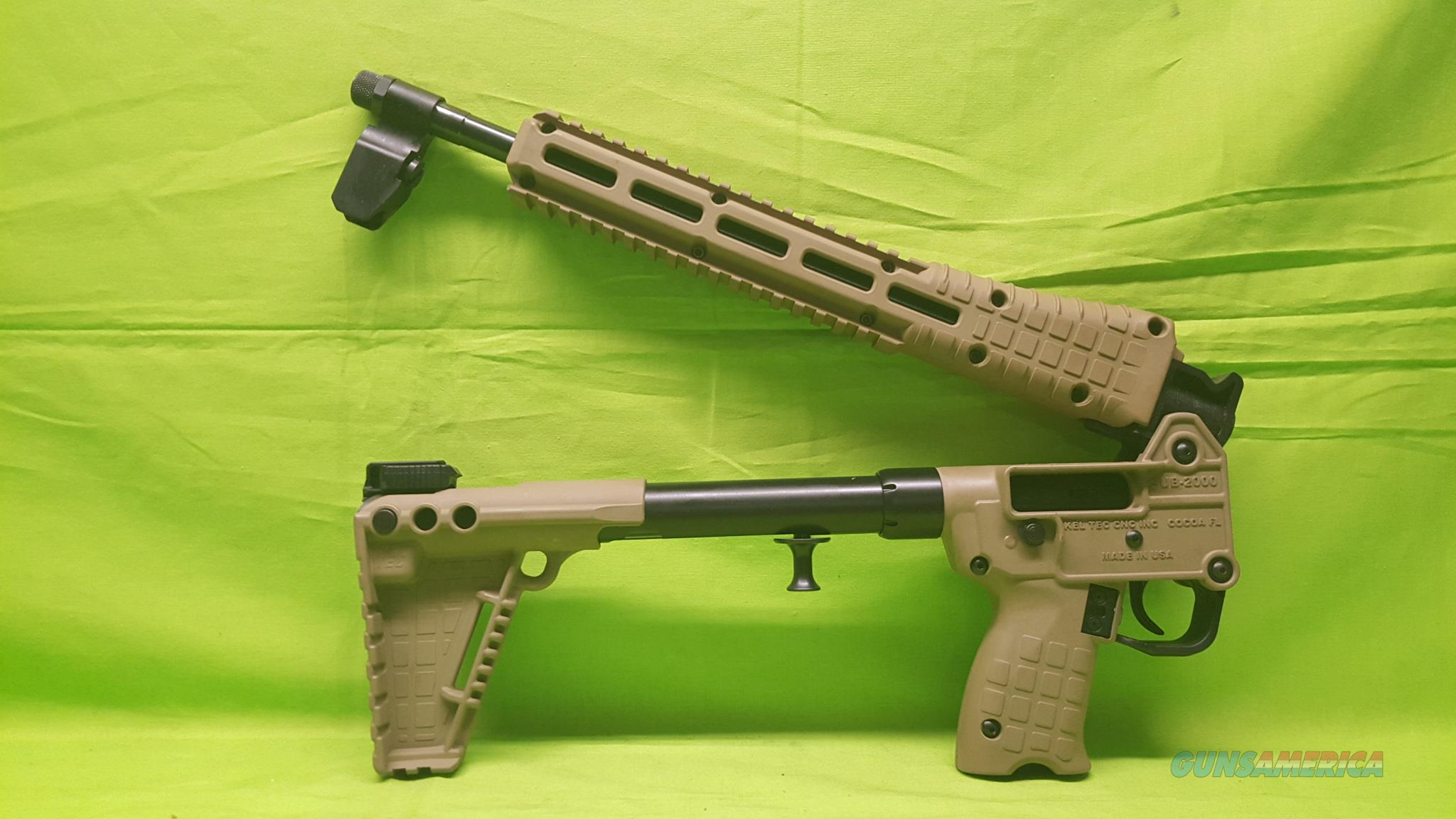 KELTEC SUB 2K 2000 GEN 2 G2 40SW S&W M&P 40 TAN  Guns > Rifles > Kel-Tec Rifles