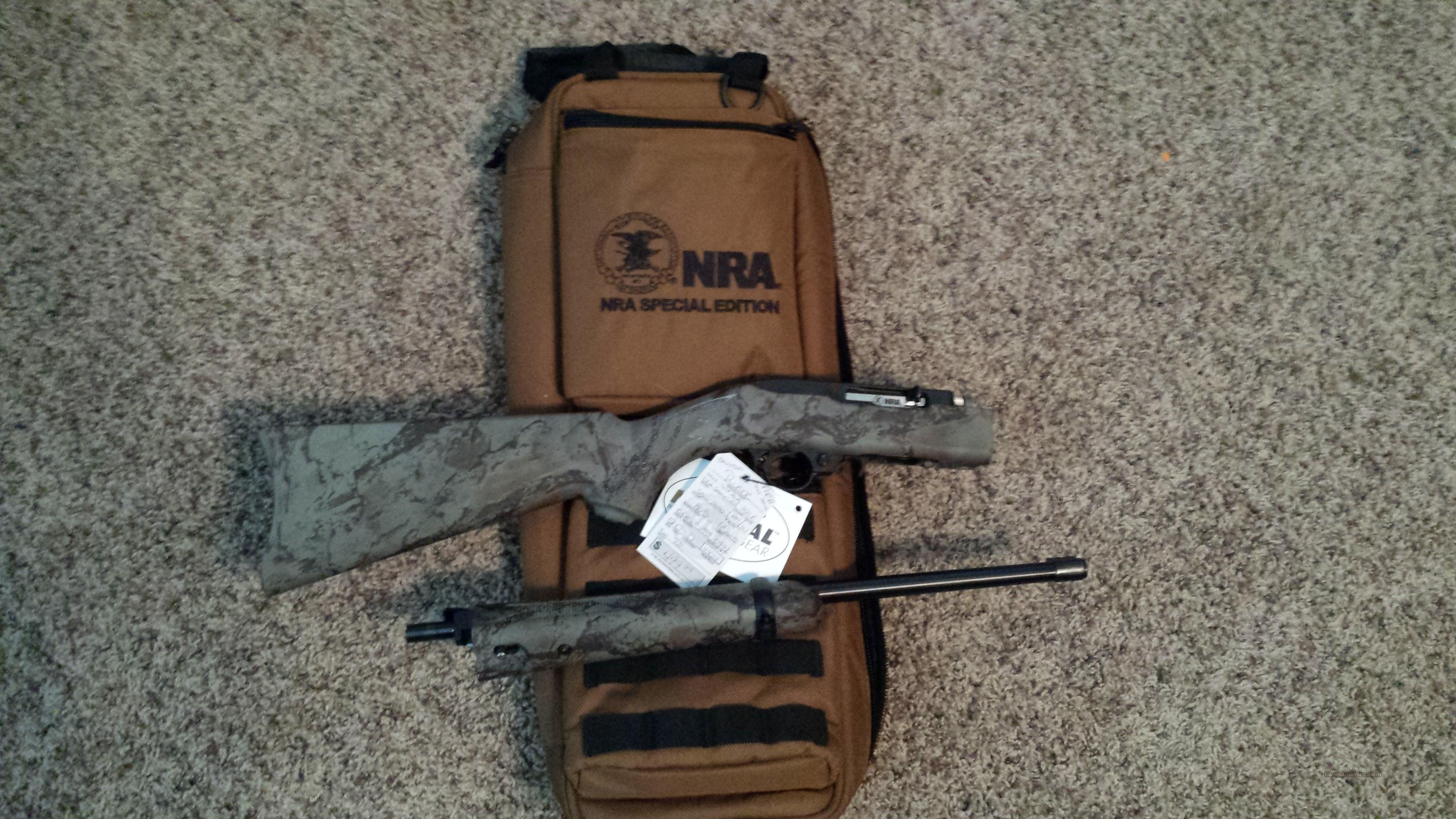 RUGER 10/22 TAKE DOWN NRA 22 22LR 10RD CAMO 11153  Guns > Rifles > Ruger Rifles > 10-22