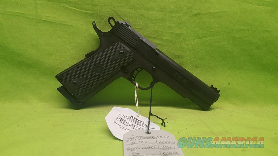 ARMSCOR ROCK ISLAND M1911 A1 XT22 22 MAG 51996  Guns > Pistols > Rock Island Armory Pistols > Rock Island