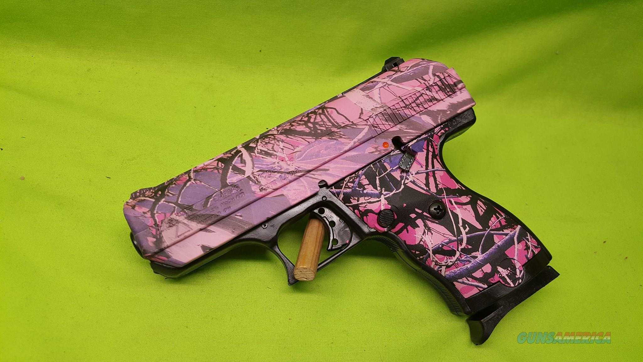 "HI POINT 9C 9 C 9MM COMPACT PINK CAMO 3.5"" 8RD  Guns > Pistols > Hi Point Pistols"