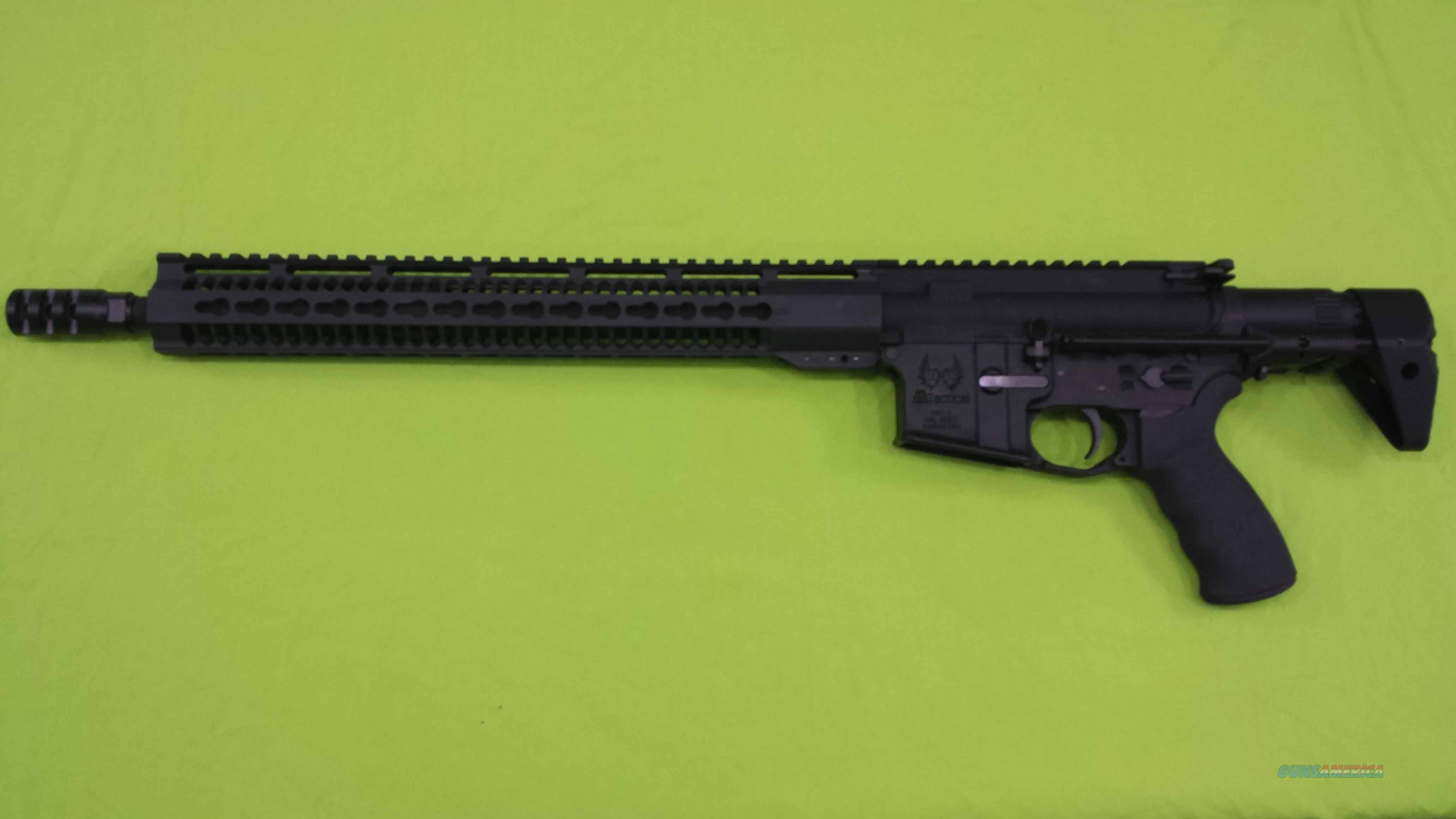 AA TACTICAL TAC-L 5.56 TROY PDW STOCK BLACK AR15   Guns > Rifles > AR-15 Rifles - Small Manufacturers > Complete Rifle