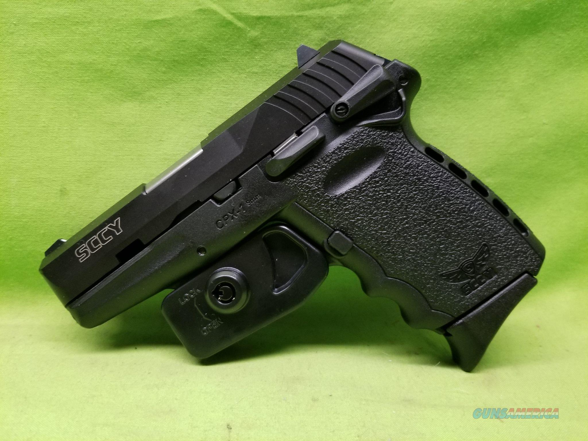"""SCCY CPX-1 CPX 1 CPX1 9 9MM 10RD BLK 3.1"""" SAFETY  Guns > Pistols > SCCY Pistols > CPX1"""