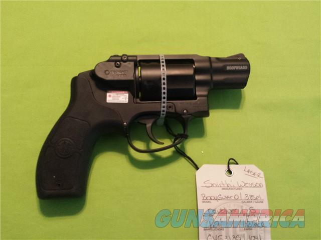 "S&W BODYGUARD 38 SPL 5RD 1.9"" BLK W/ CRIMSON LASER REVOLVER  Guns > Pistols > Smith & Wesson Revolvers > Full Frame Revolver"