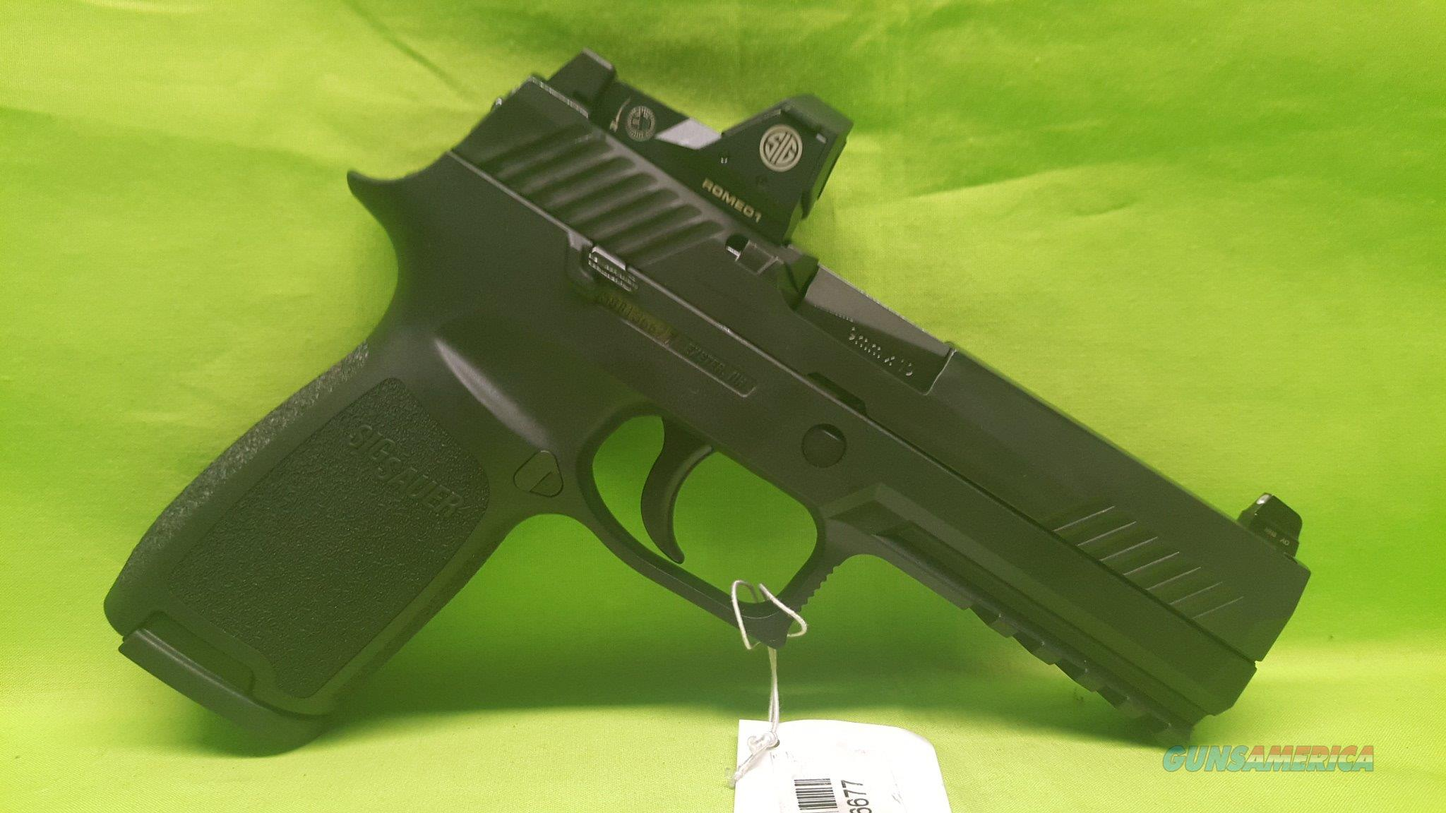 SIG P320 P 320 F RX 9MM 9 MM 17RD ROMEO SIGHT INCL  Guns > Pistols > Sig - Sauer/Sigarms Pistols > Other