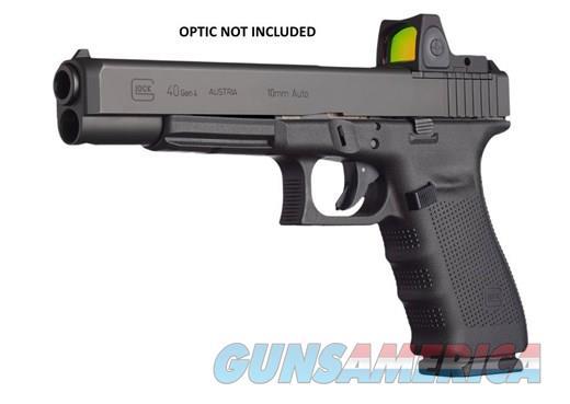 GLOCK 40 GEN 4 10MM 10 MM 15RD MOS RMR RAIL  Guns > Pistols > Glock Pistols > 40