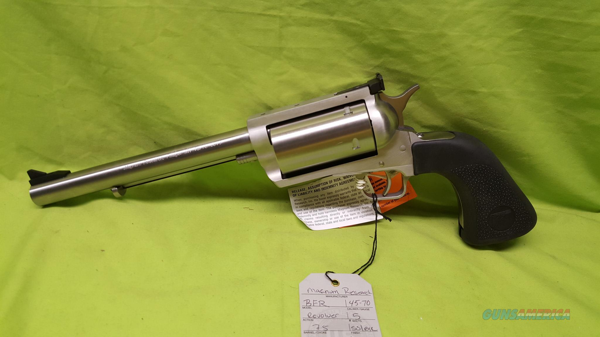 "MAGNUM RESEARCH BFR REVOLVER 45/70 GVT 7.5"" 45 70  Guns > Pistols > Magnum Research Pistols"