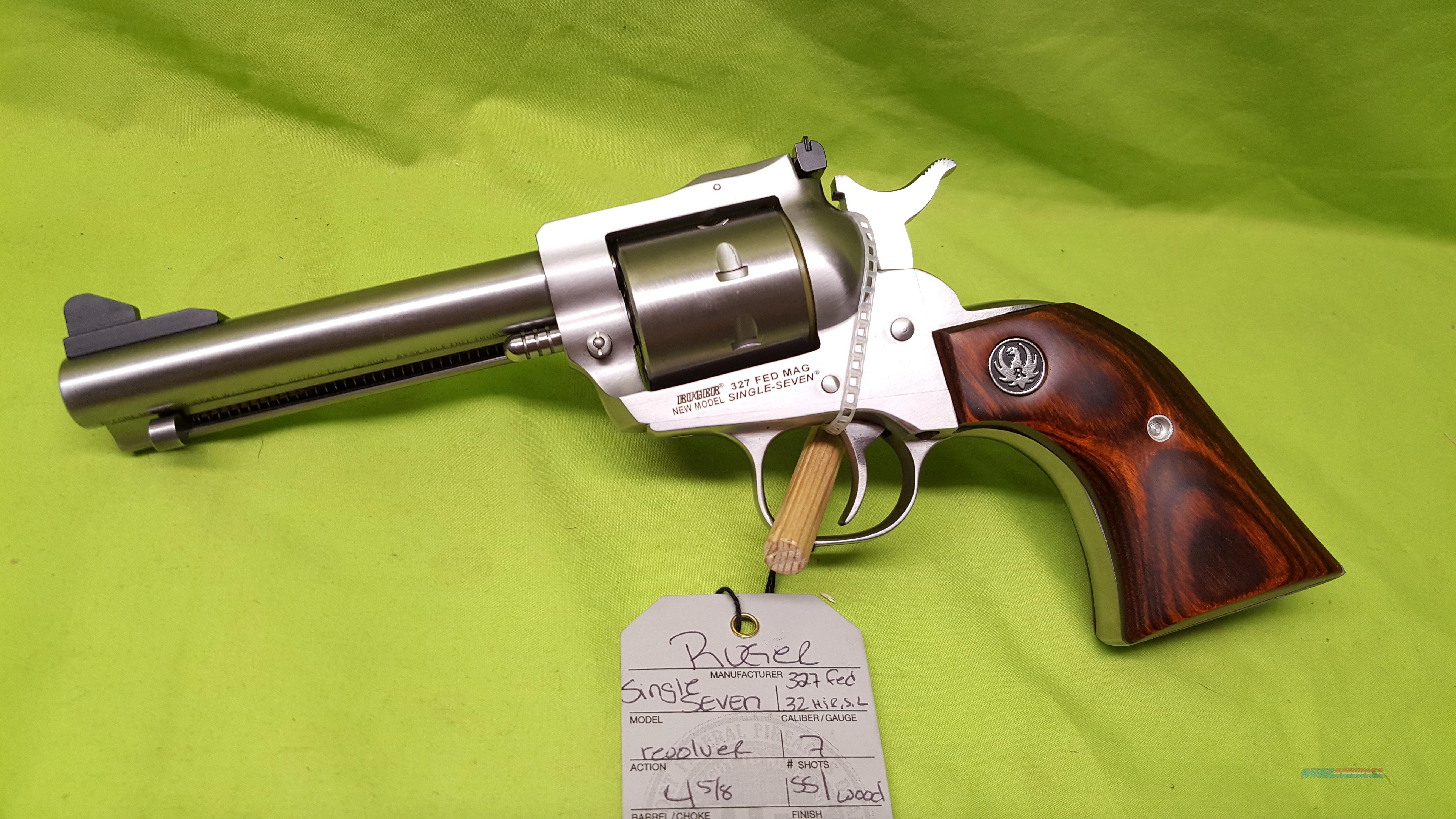 RUGER SINGLE SEVEN 327 FEDERAL MAG 4 5/8 NEW 8161  Guns > Pistols > Ruger Single Action Revolvers > Single Six Type