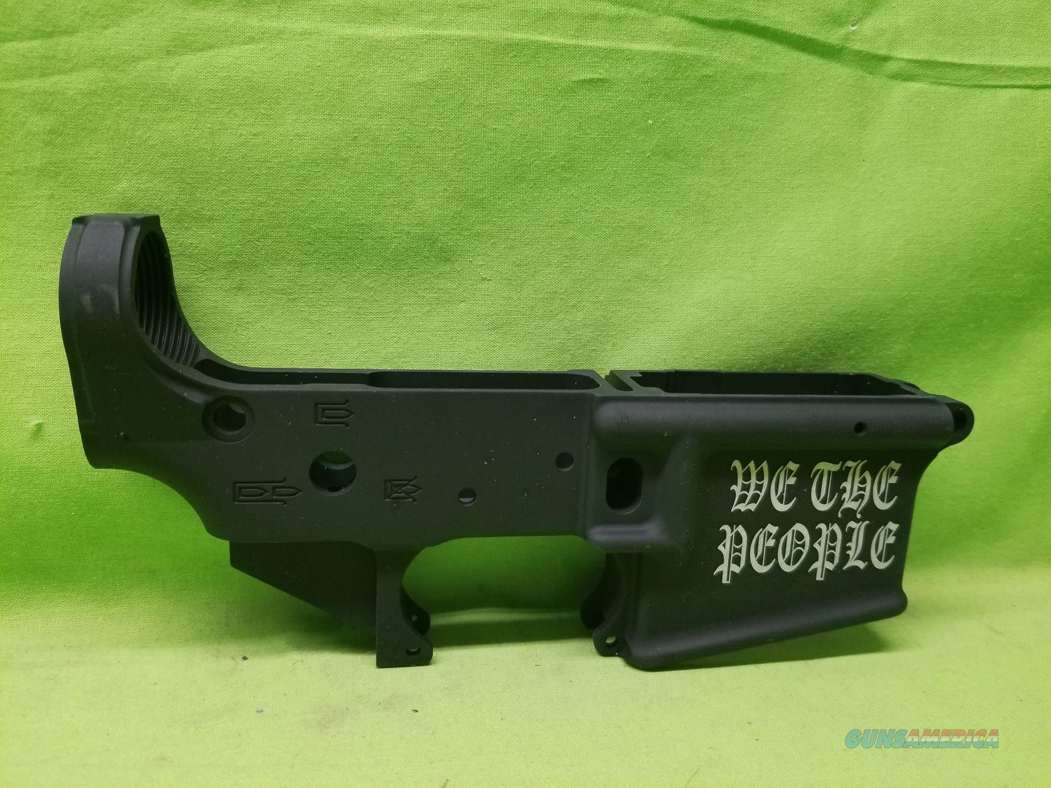AATACTICAL TAC-L WING STRIPPED LOWER WE THE PEOPLE  Guns > Rifles > AR-15 Rifles - Small Manufacturers > Lower Only