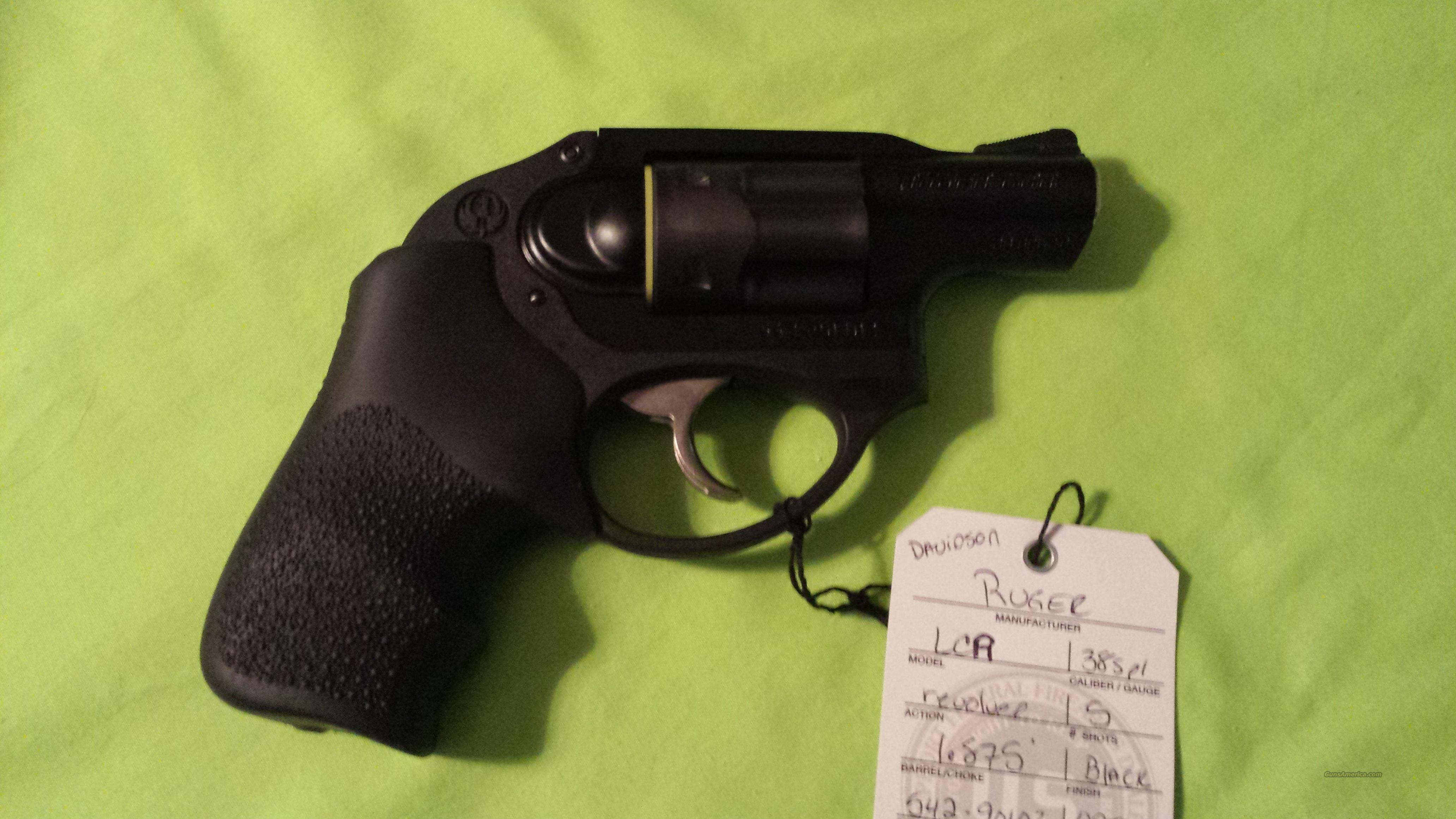 Ruger LCR Revolver .38SPL 38 SPL Special 5401  Guns > Pistols > Ruger Double Action Revolver > LCR