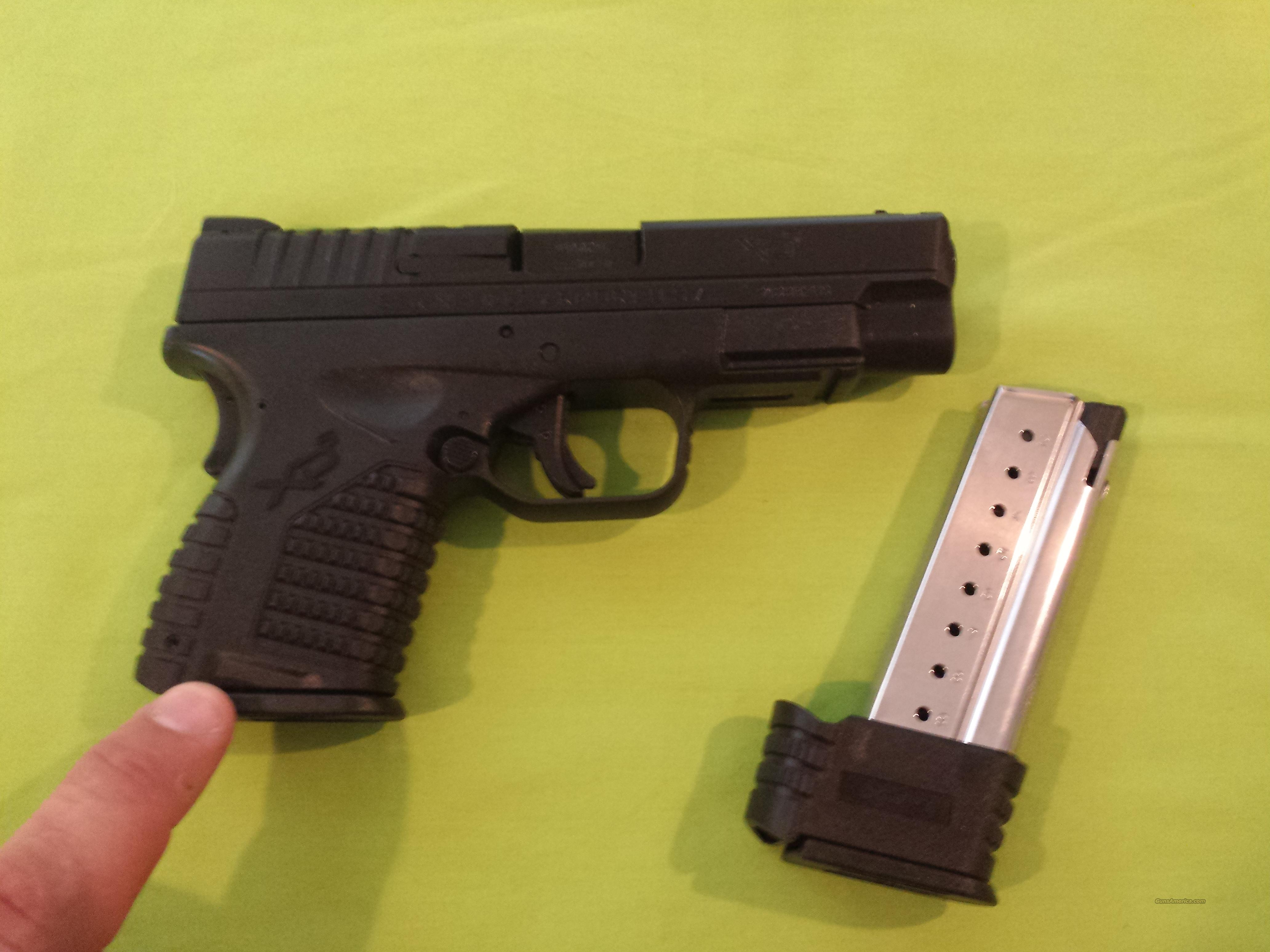 SPRINGFIELD XDS 9MM 4.0 BLACK 7RD MAG..NIB XD GEAR INCLUDED!  Guns > Pistols > Springfield Armory Pistols > XD-S
