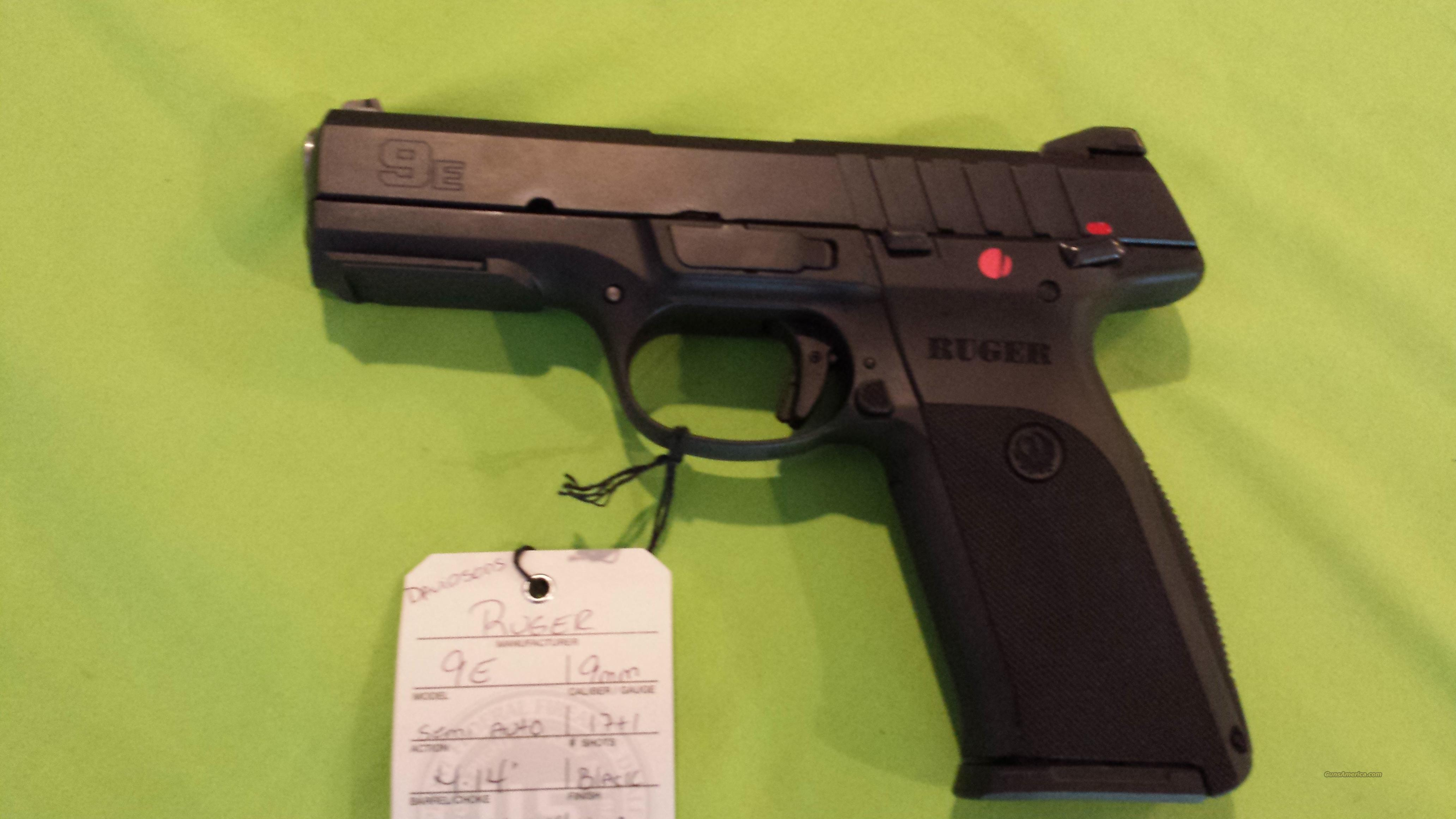 NEW...RUGER 9E 9MM 9 MM BLACK 17RD 1-MAG 3340  Guns > Pistols > Ruger Semi-Auto Pistols > SR Family > SR40