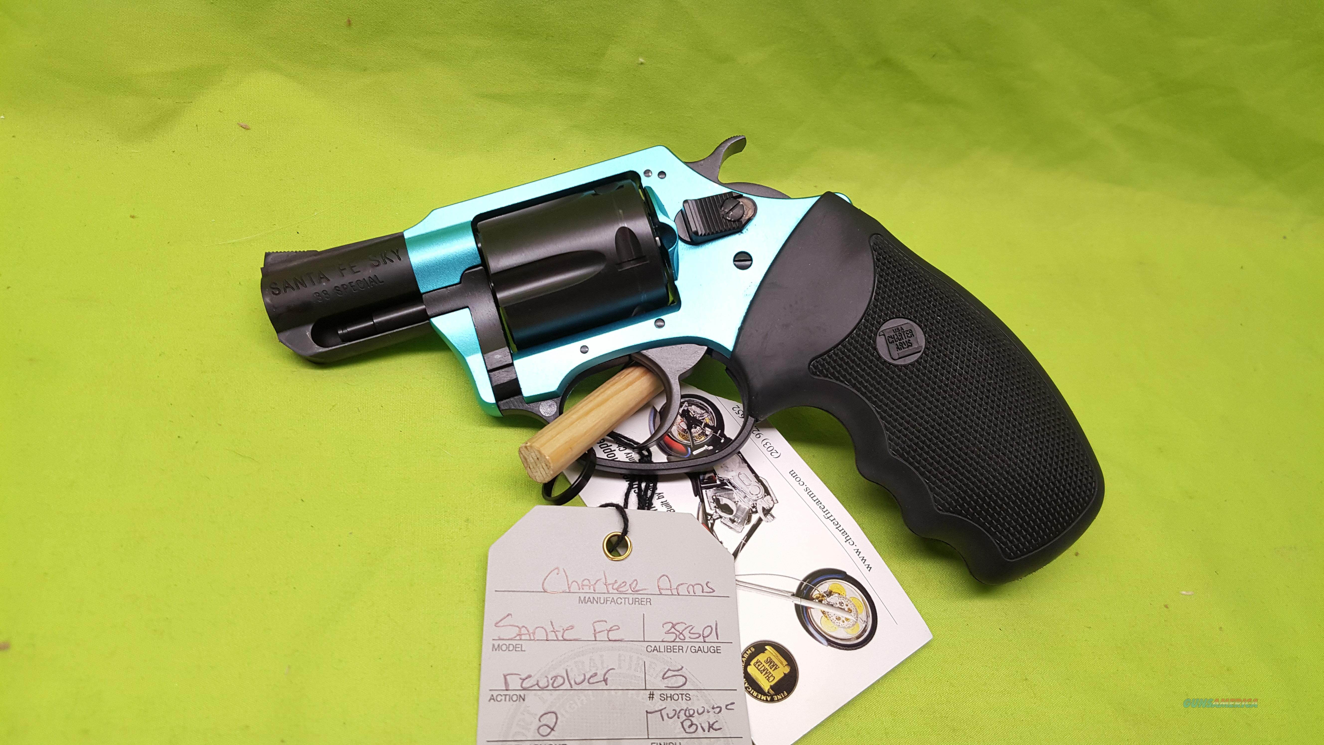 CHARTER UNDERCOVER SANTA FE SKY 38 SPL TURQUOISE  Guns > Pistols > Charter Arms Revolvers