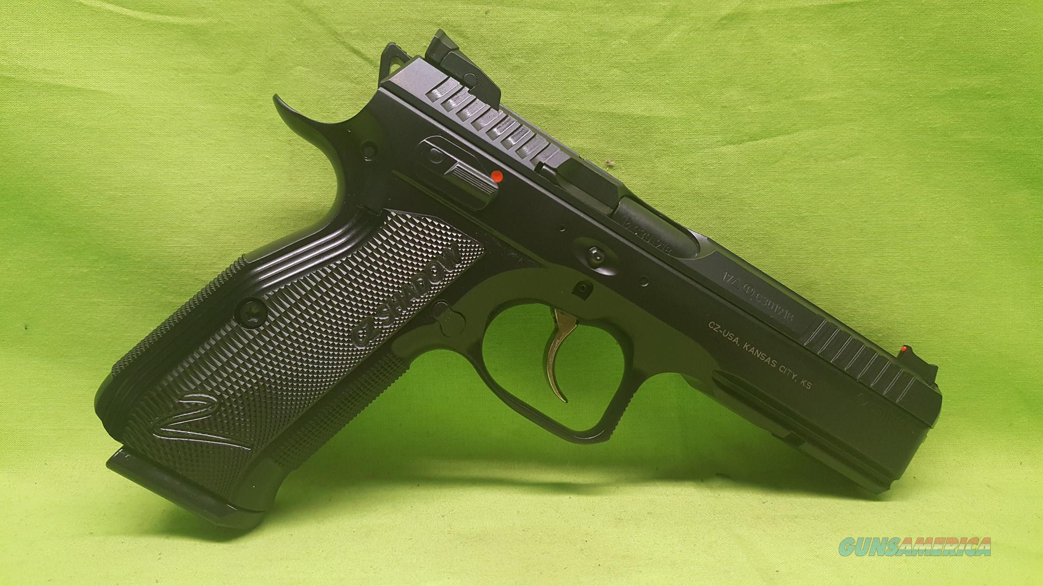 CZ-USA CZ 75 SHADOW 2 II 9MM 9 MM 91254 CUSTOM  Guns > Pistols > CZ Pistols
