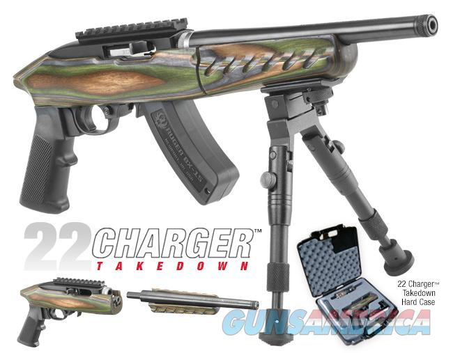 RUGER 22 CHARGER TAKEDOWN TB 22LR .22 PISTOL 4918  Guns > Pistols > Ruger Semi-Auto Pistols > Charger Series