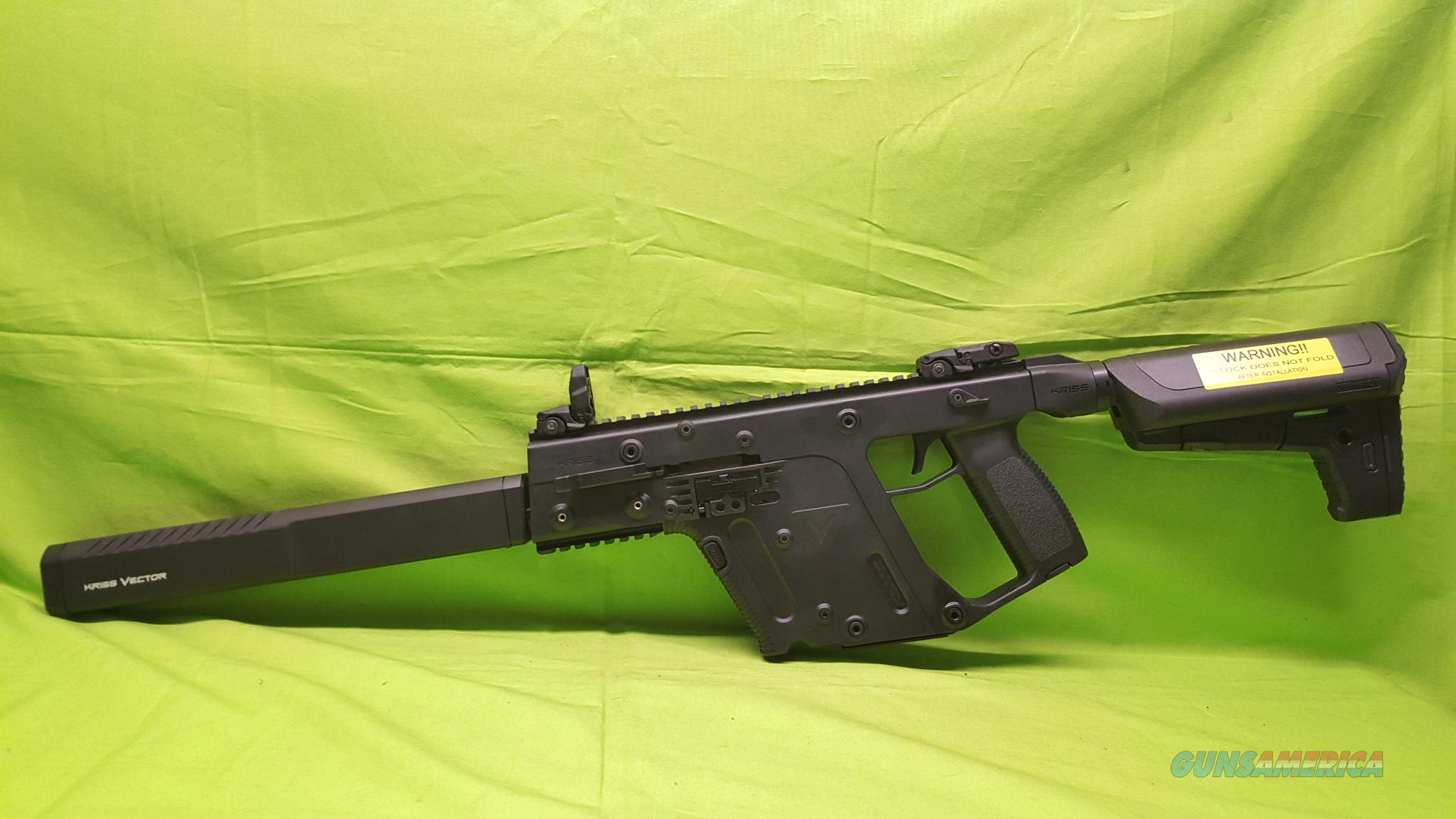"KRISS VECTOR GEN 2 CRB 10MM 16"" BLACK KV10-CBL20  Guns > Rifles > FNH - Fabrique Nationale (FN) Rifles > Semi-auto > PS90"