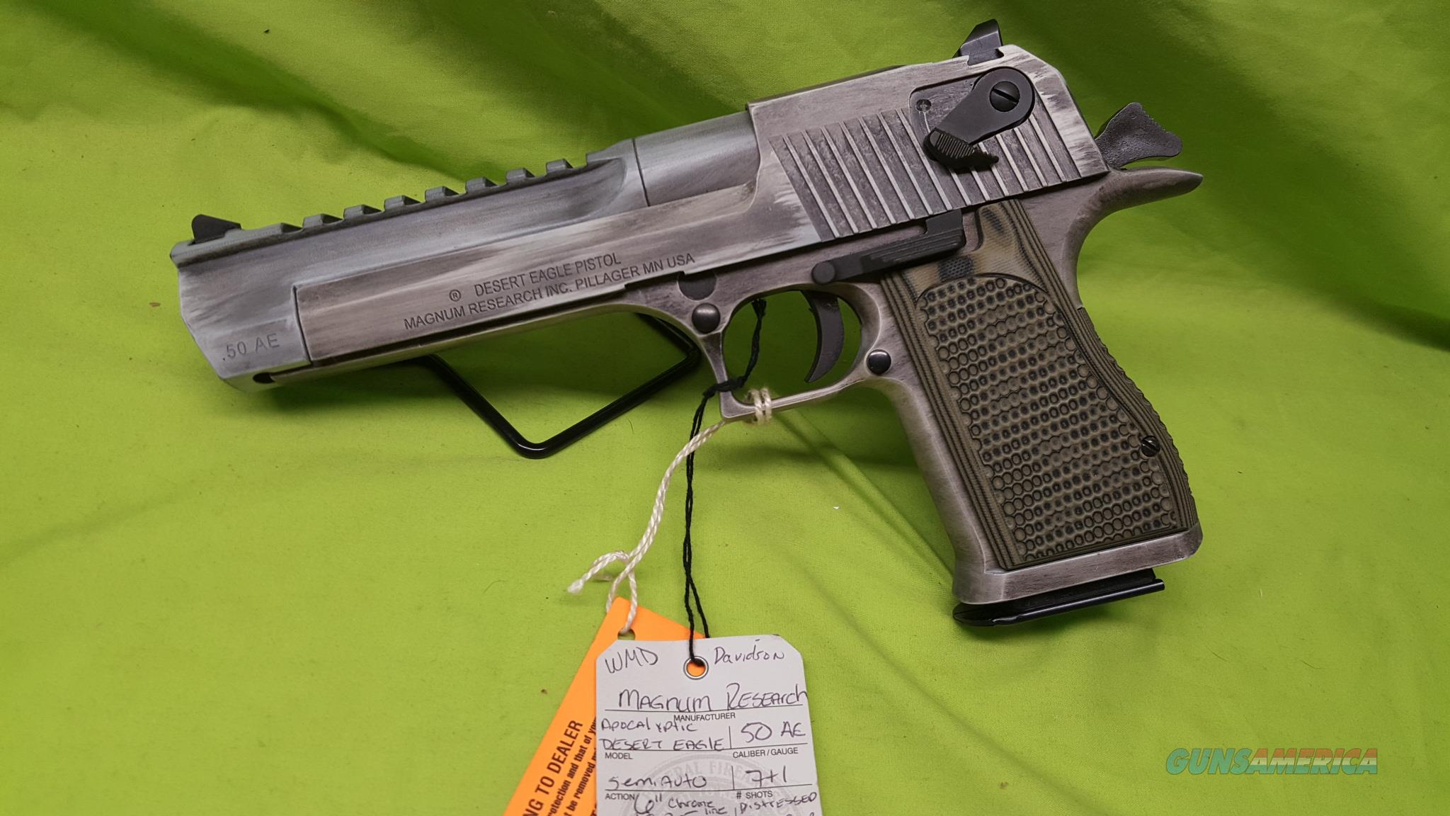MAGNUM RESEARCH APOCALYPTIC DESERT EAGLE 50AE MK19  Guns > Pistols > Magnum Research Pistols