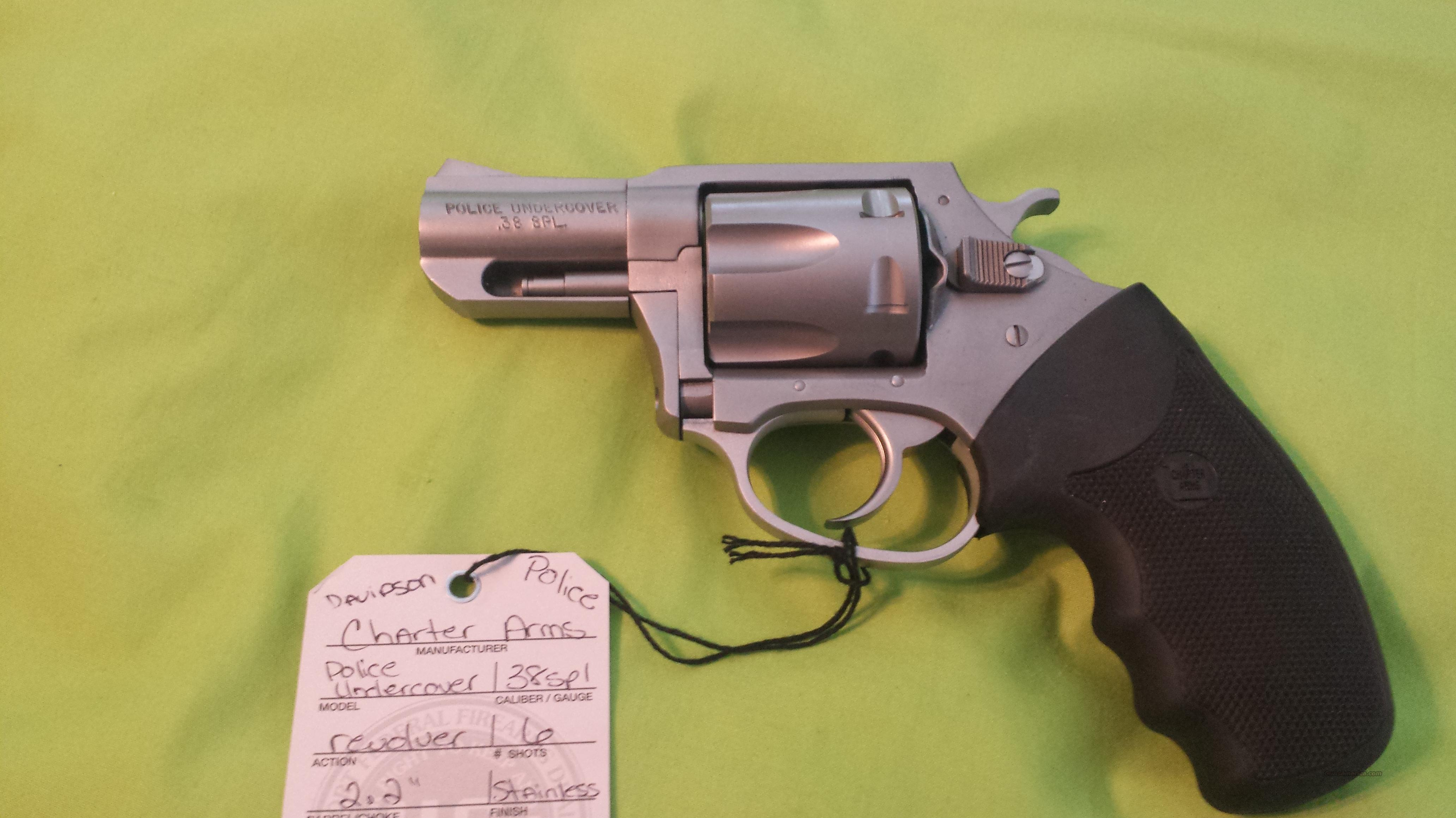 CHARTER ARMS POLICE UNDERCOVER 38SP REVOLVER 6RD  Guns > Pistols > Charter Arms Revolvers