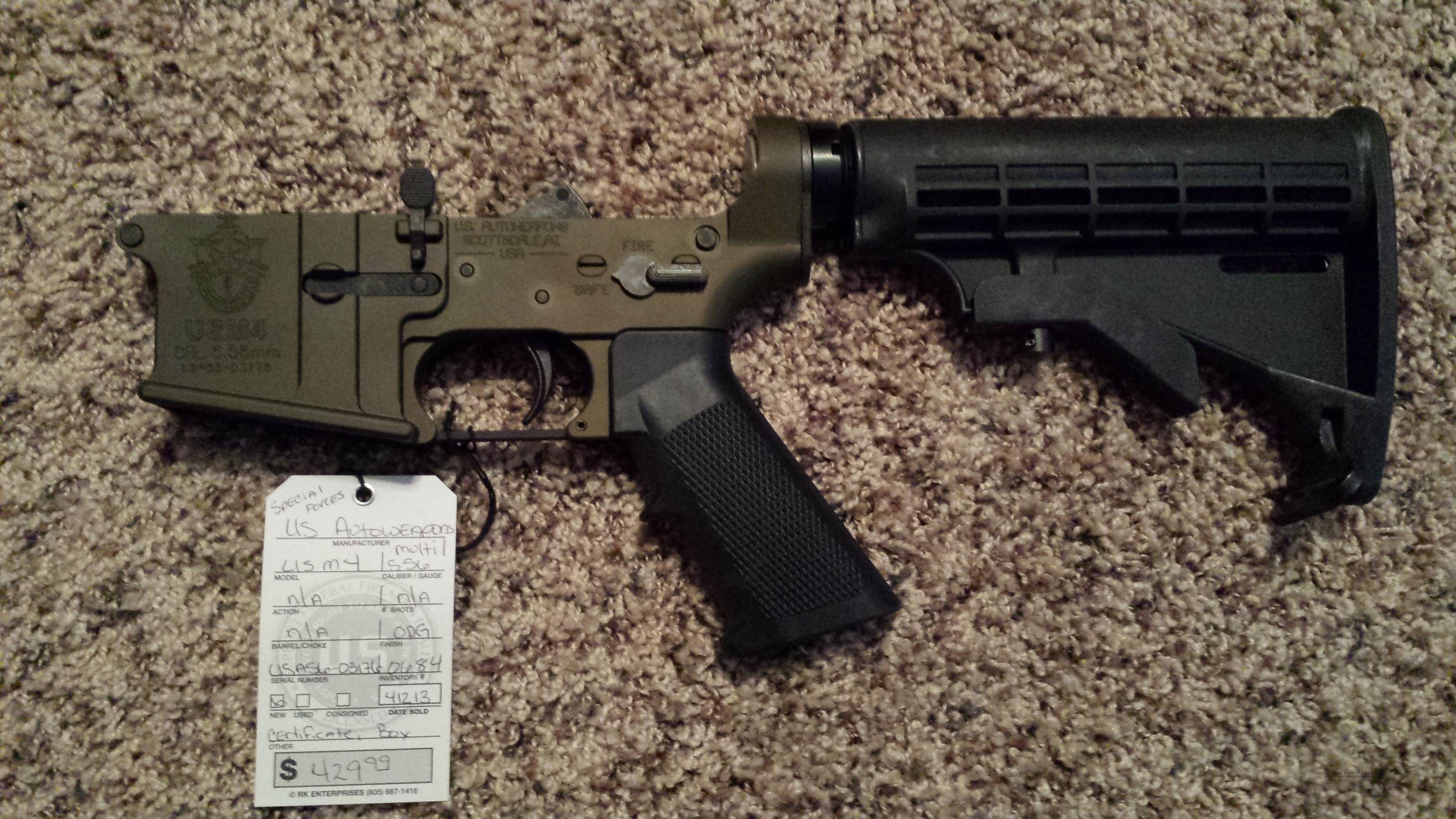 UA SPECIAL FORCES COMPLETE OD GREEN ODG 556 Lower  Guns > Rifles > AR-15 Rifles - Small Manufacturers > Lower Only