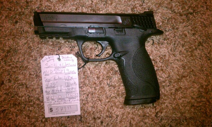Smith & Wesson M&P9 9mm 4.25 17+1 S&W M&P 9  Guns > Pistols > Smith & Wesson Pistols - Autos > Polymer Frame