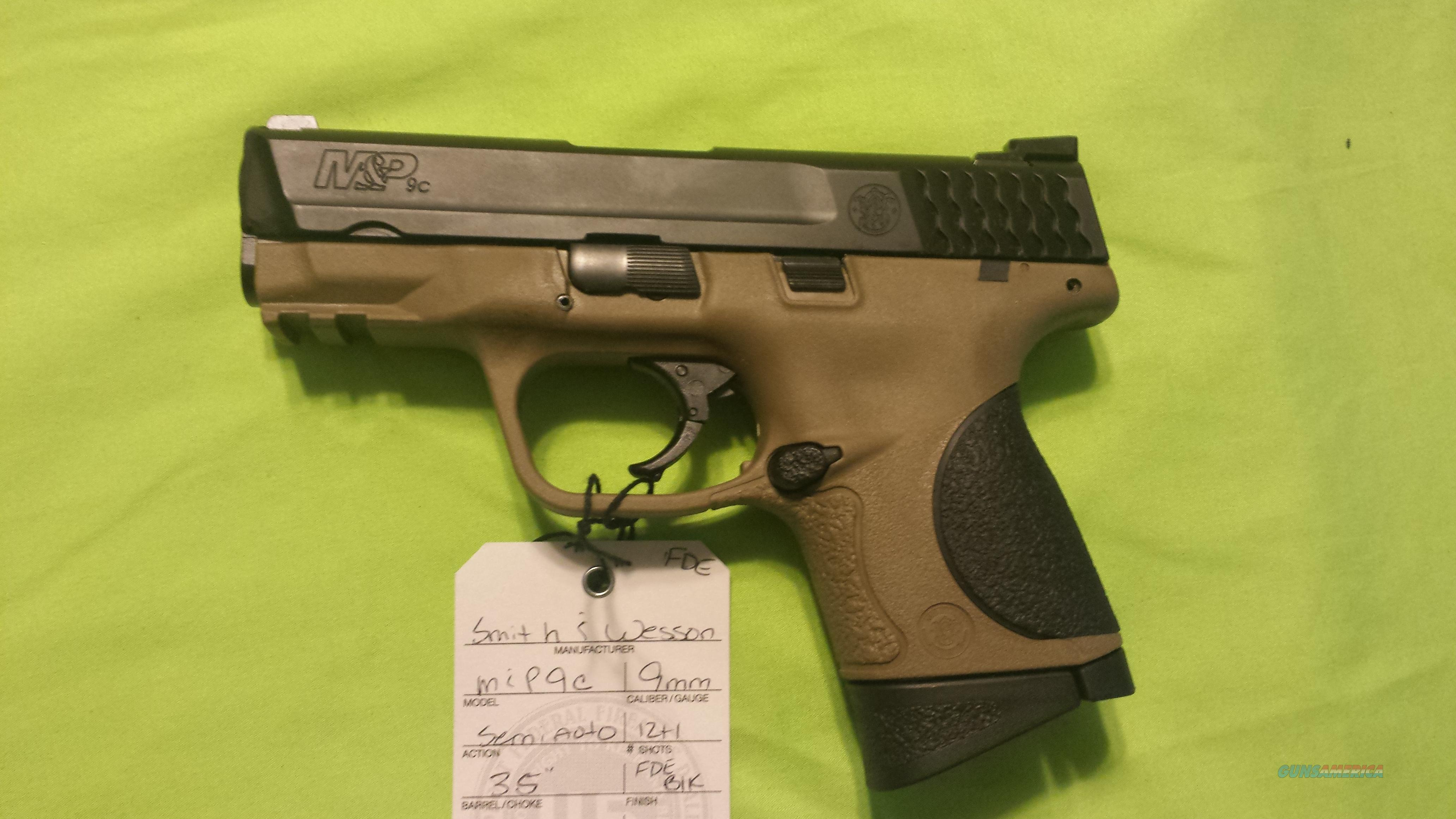 SMITH & WESSON S&W M&P FDE COMPACT 3.5 9C 9 C 12RD  Guns > Pistols > Smith & Wesson Pistols - Autos > Polymer Frame