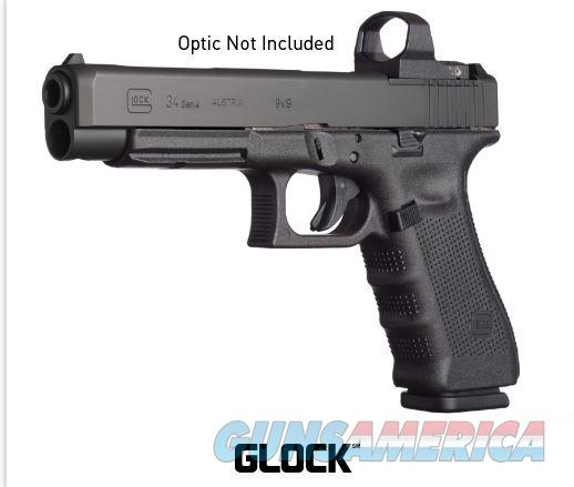 NEW...GLOCK 34 GEN 4 9MM 9 MM 17RD MOS Modular Optic System RMR RAIL  Guns > Pistols > Glock Pistols > 34