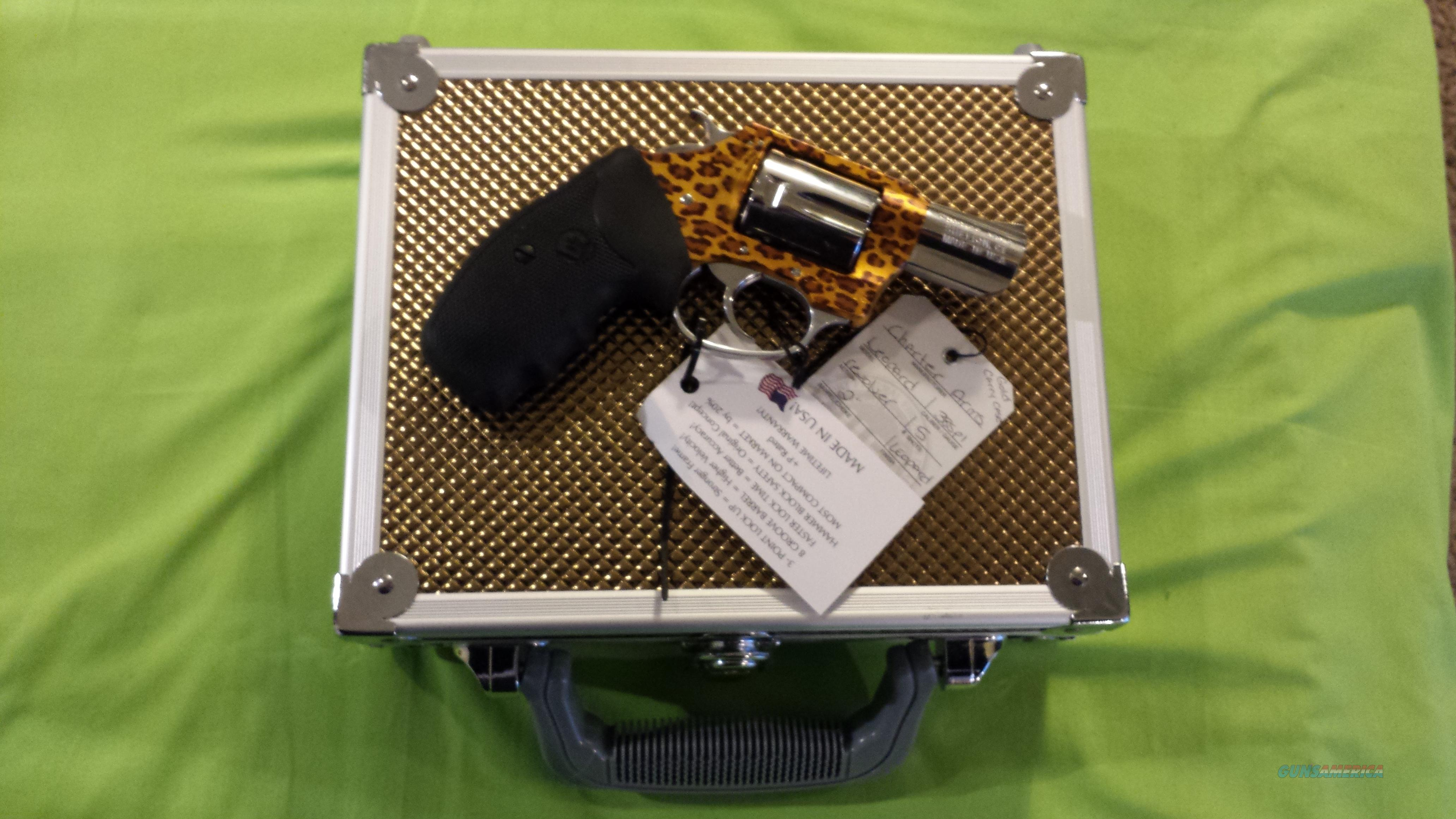 CHARTER LEOPARD 38 SPECIAL SPL 5RD GOLD CASE 53889  Guns > Pistols > Charter Arms Revolvers