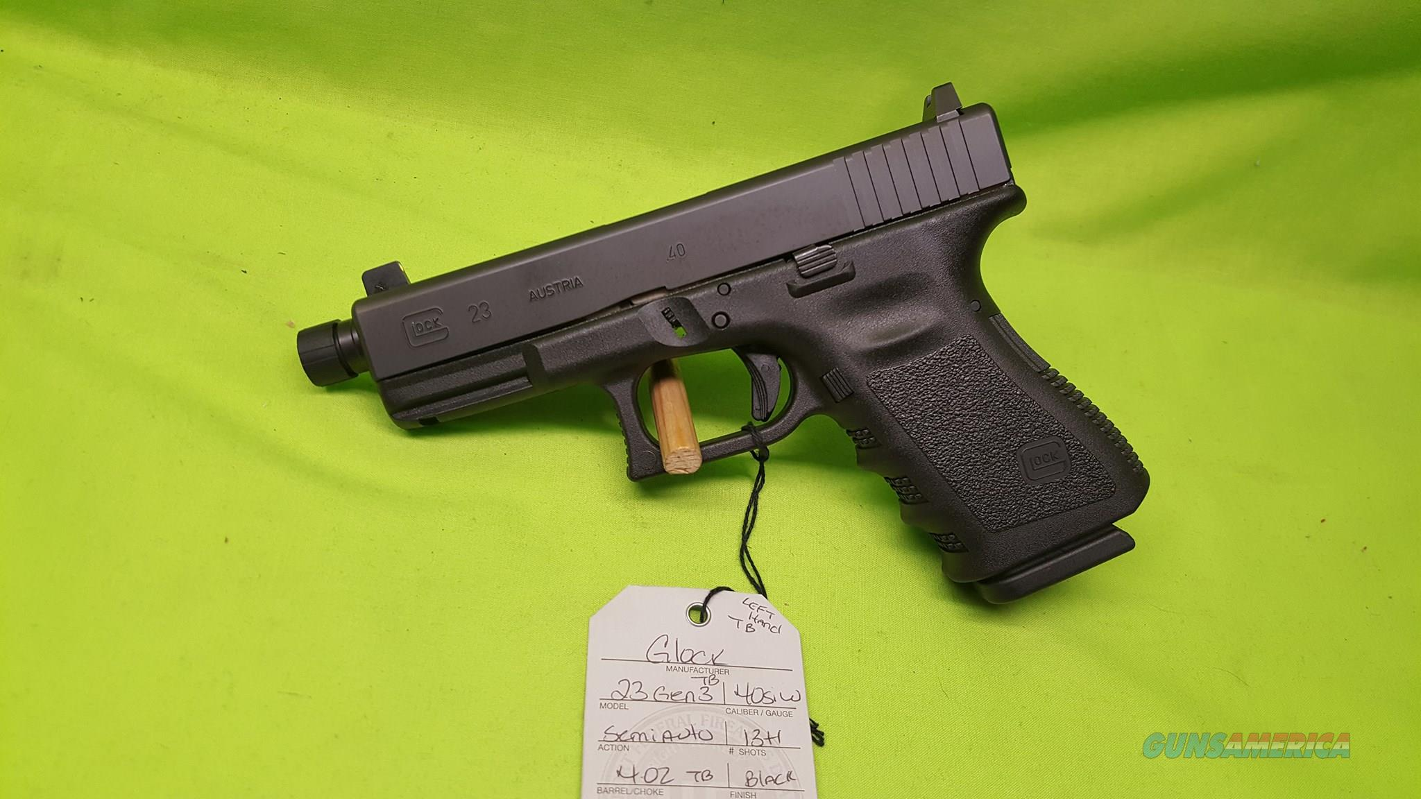 GLOCK 23 GEN 3 40S&W TB THREADED BARREL 13RD  Guns > Pistols > Glock Pistols > 23