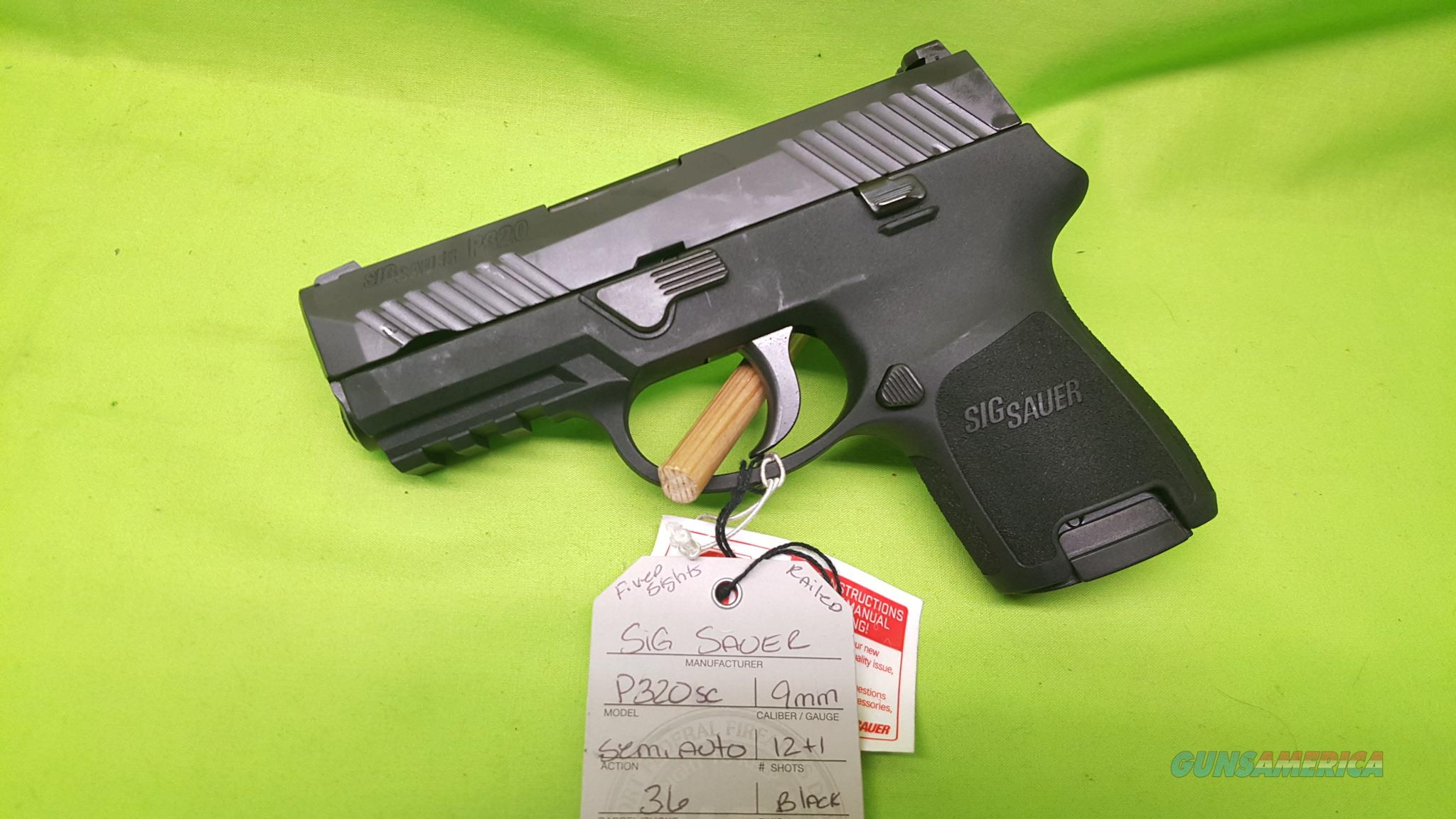 SIG P320 320 SC SUB COMPACT 9MM 9 FS 3.9 12RD RAIL  Guns > Pistols > Sig - Sauer/Sigarms Pistols > Other