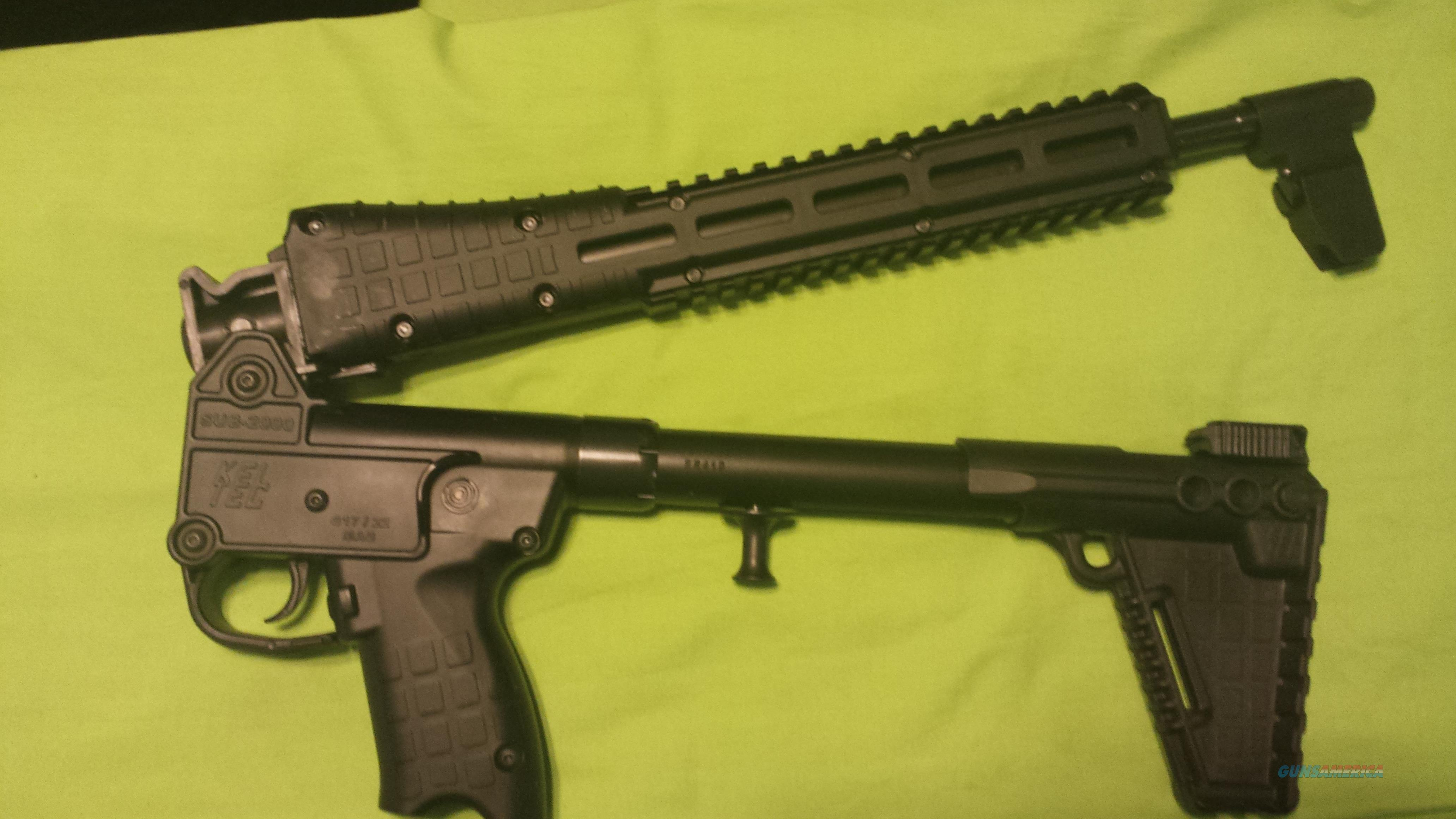 KEL TEC SUB 2K 2000 G2 GEN 2 9MM GLOCK 17 17RD BLK  Guns > Rifles > Kel-Tec Rifles