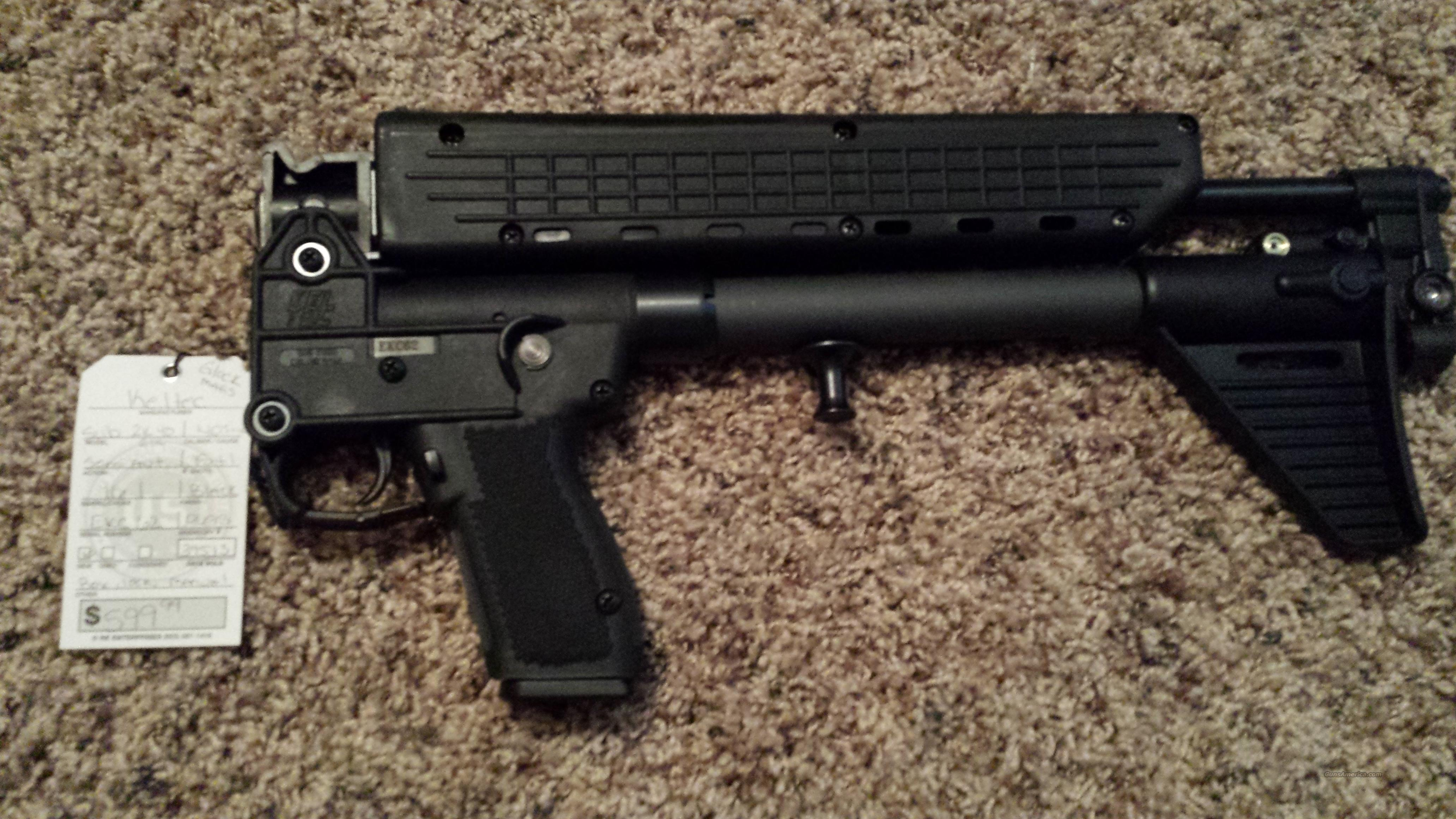 KEL TEC SUB 2K 2000 9MM 9 GLOCK 17 BLACK 17RD  Guns > Rifles > Kel-Tec Rifles