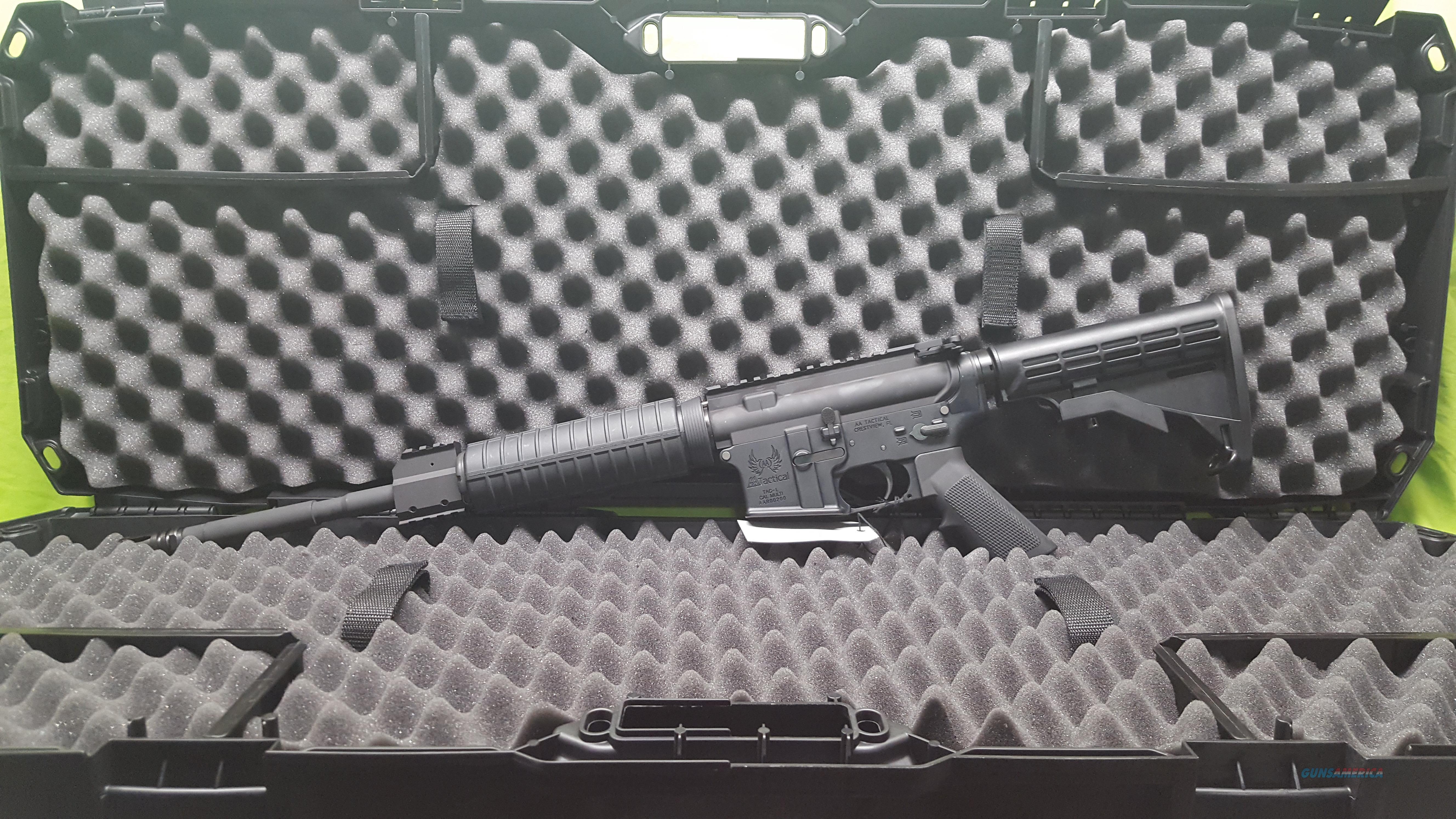 "AA TACTICAL TAC-L STD HANDGUARD 5.56 16"" BLACK  Guns > Rifles > A Misc Rifles"
