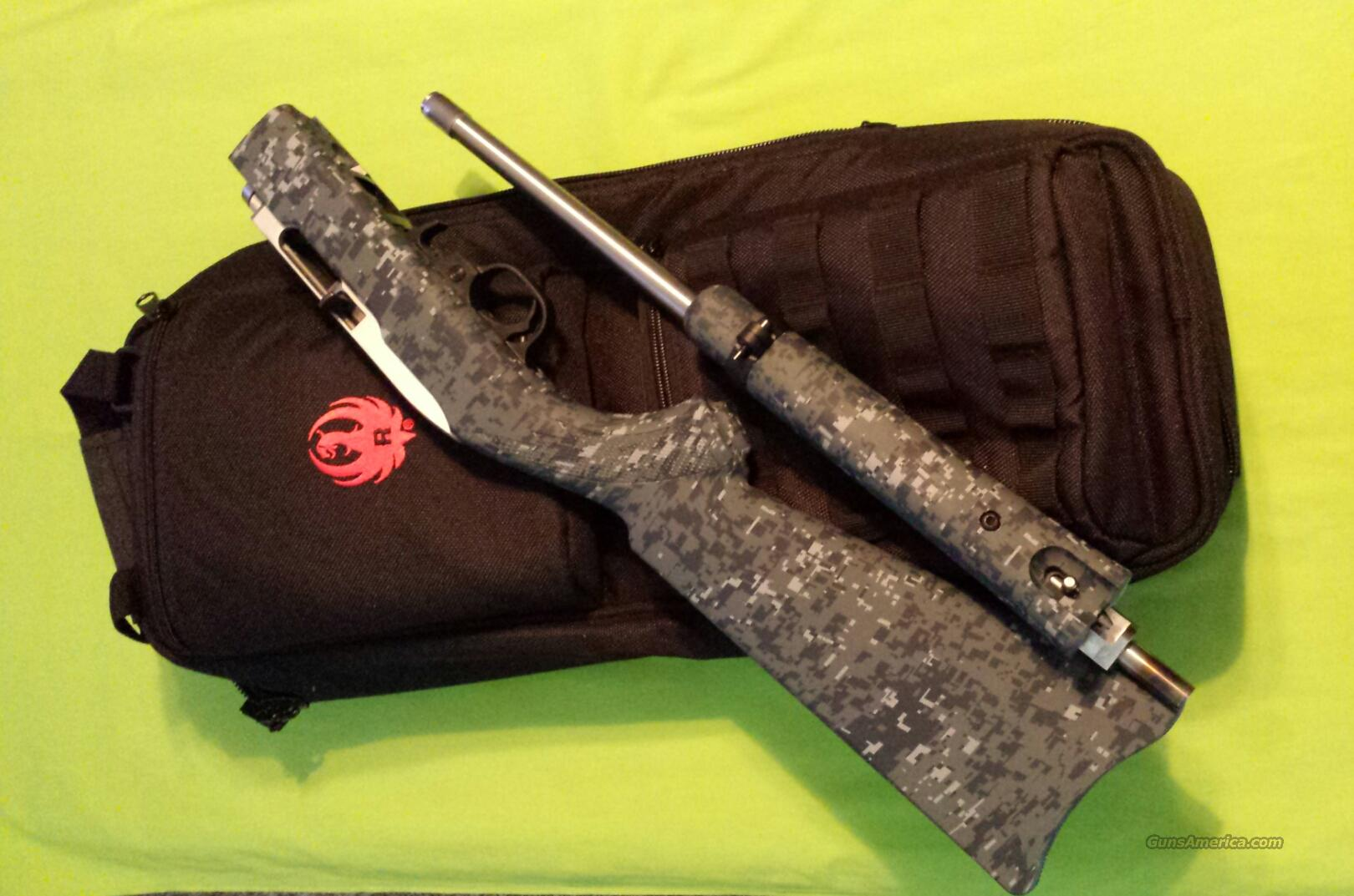 RUGER 10/22 TAKEDOWN 22LR NAVY DIGITAL CAMO 11188  Guns > Rifles > Ruger Rifles > 10-22