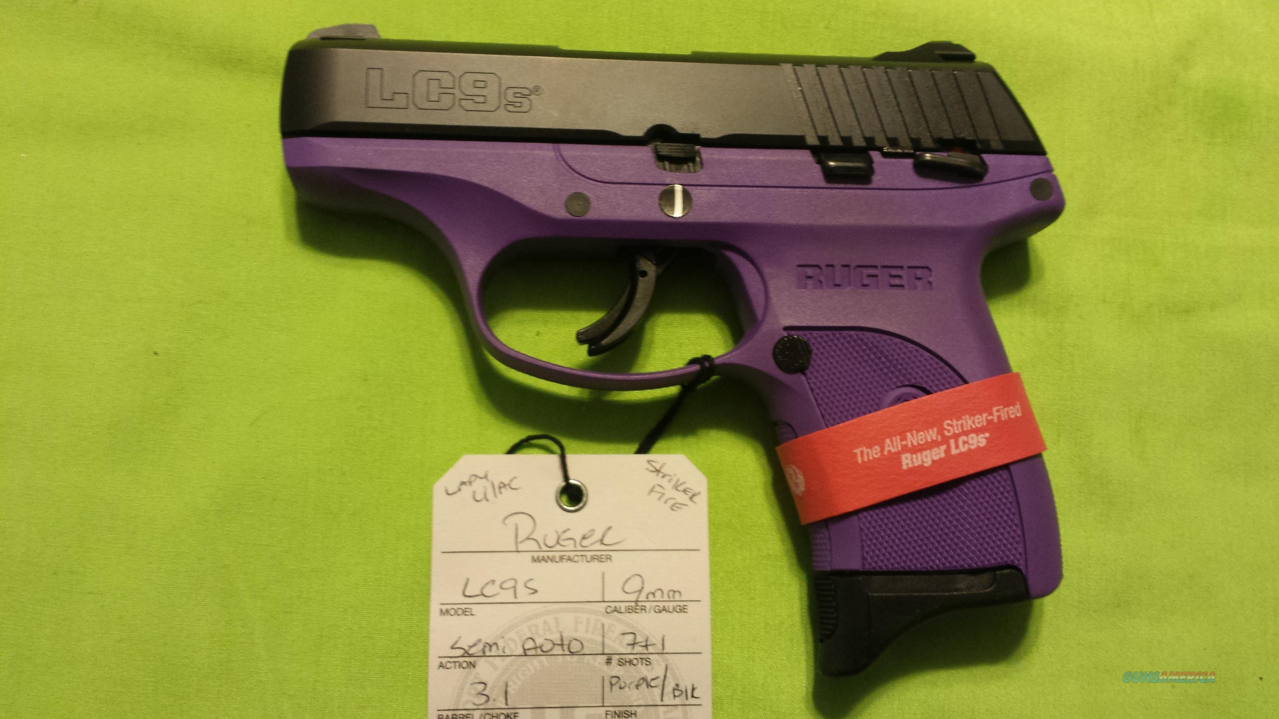 RUGER LC9S LADY LILAC PURPLE LC9 S 9 9MM 7RD STRIKER FIRE 3272  Guns > Pistols > Ruger Semi-Auto Pistols > LC9
