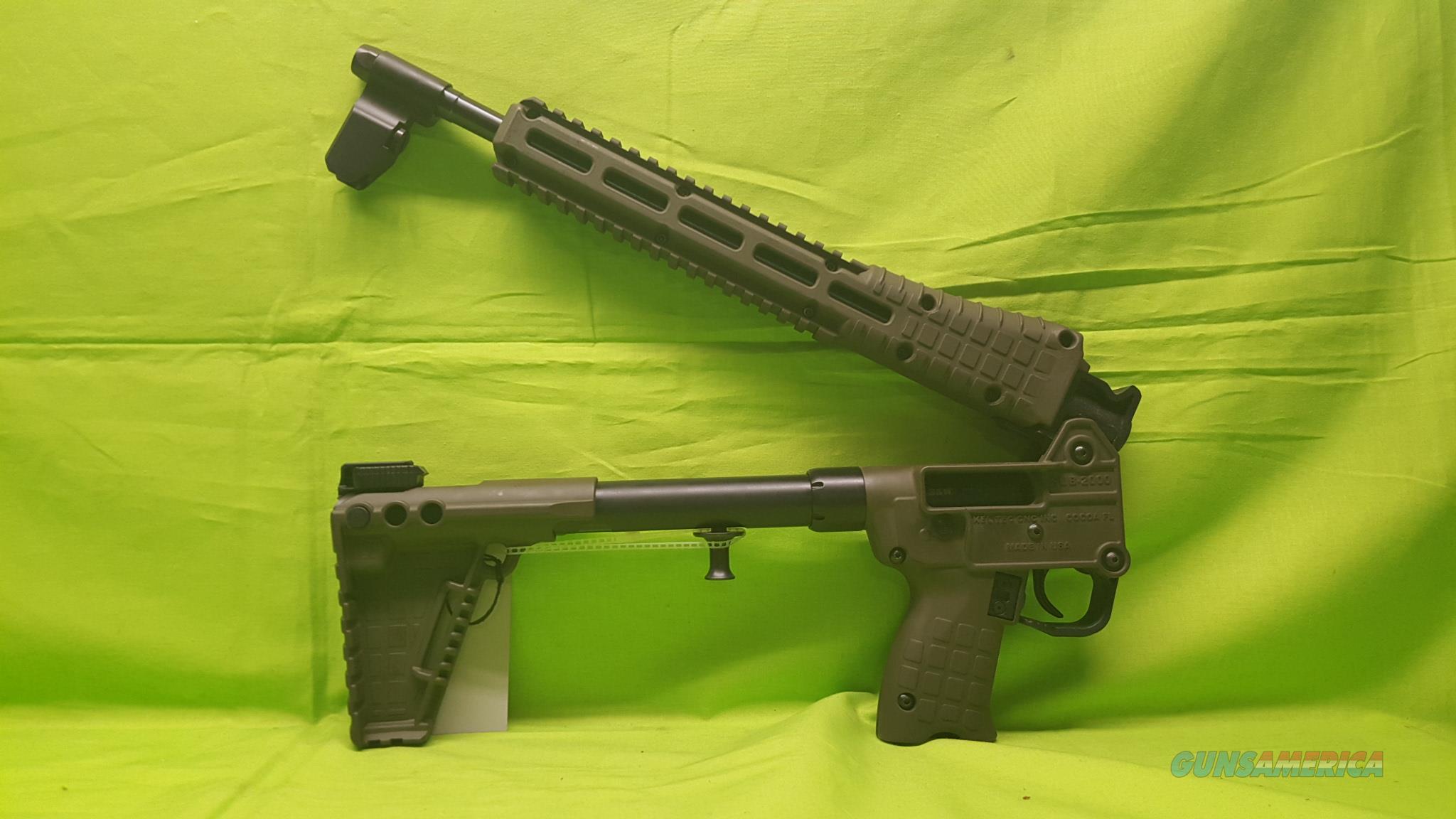 KELTEC SUB 2K 2000 G2 40 S&W GLOCK 23 GREEN ODG  Guns > Rifles > Kel-Tec Rifles
