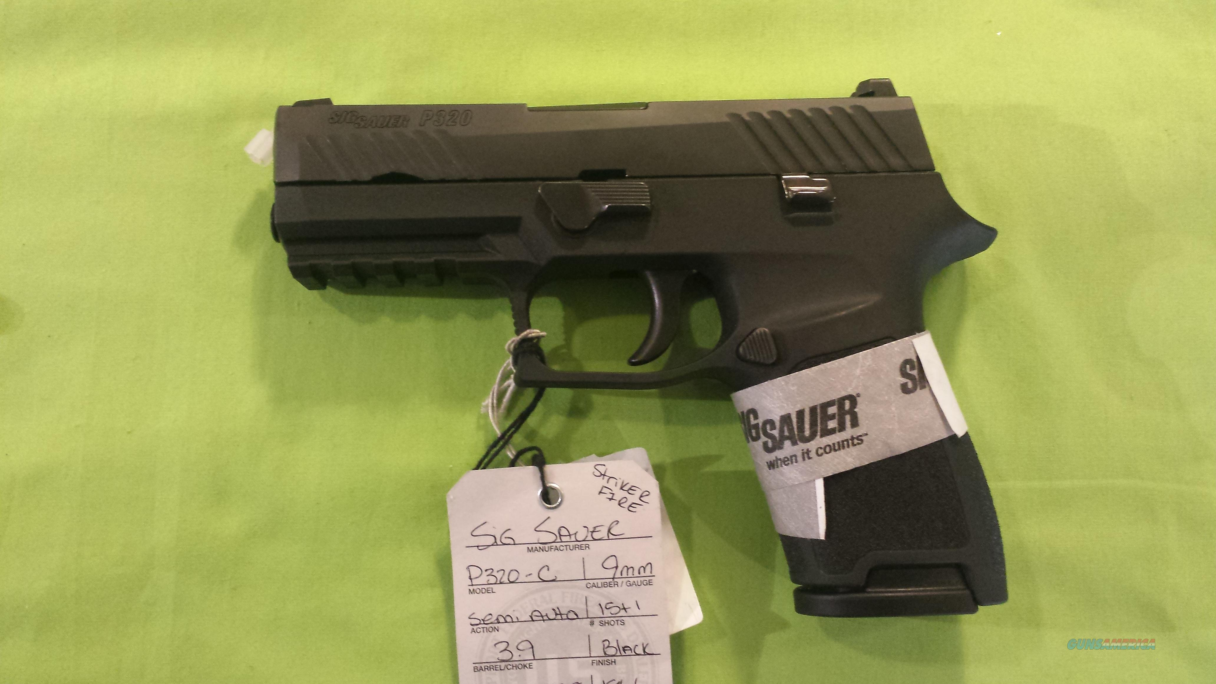 SIG SAUER P320 C COMPACT FS 9MM 3.9 15RD STRIKER FIRE  Guns > Pistols > Sig - Sauer/Sigarms Pistols > Other