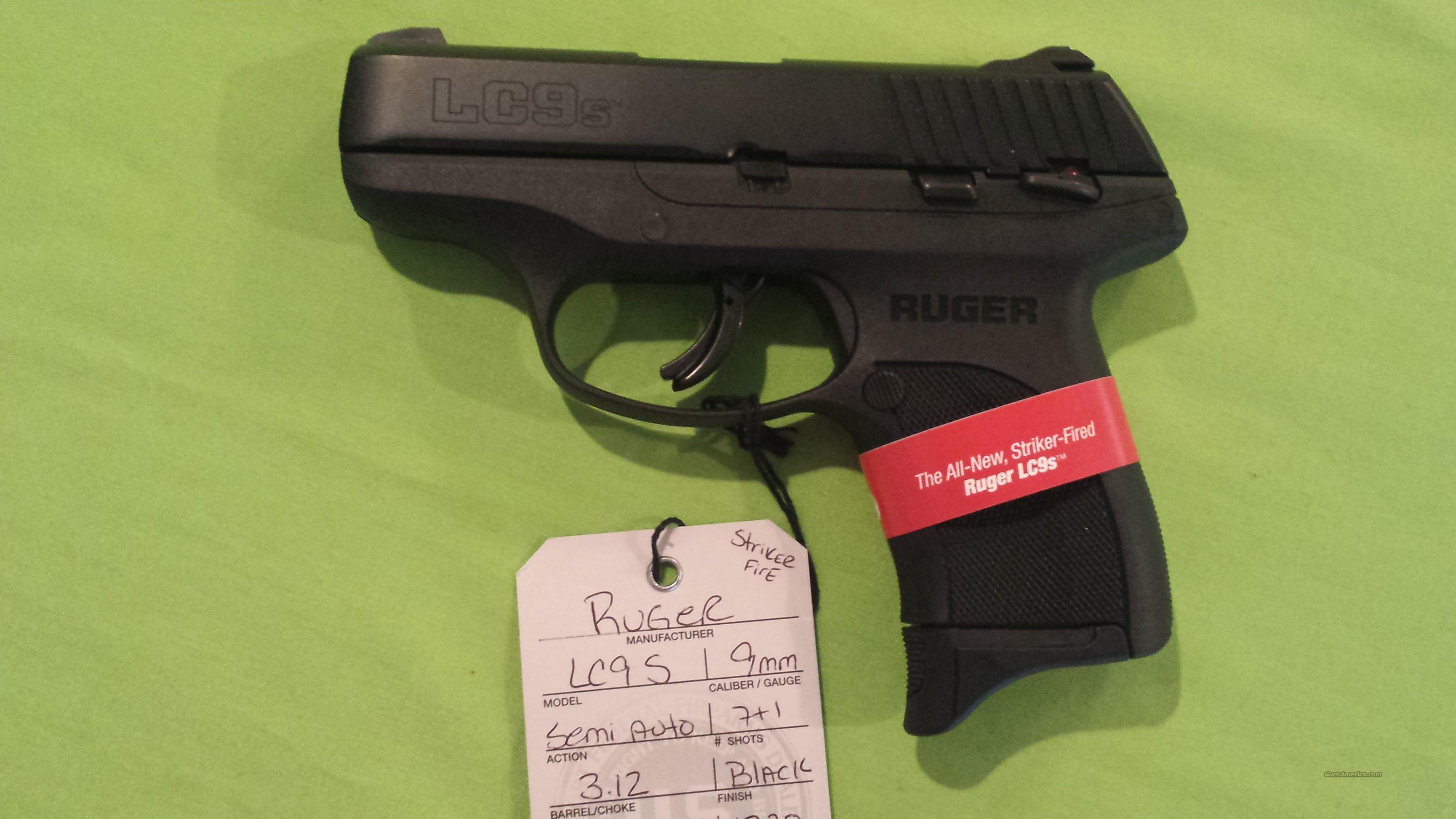 NEW RUGER LC9S LC9 S 9 9MM 7RD STRIKER FIRE NIB  Guns > Pistols > Ruger Semi-Auto Pistols > LC9