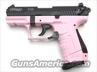 Walther P22 PINK with Blued Slide LIMITED  Guns > Pistols > Walther Pistols > Post WWII > Target Pistols