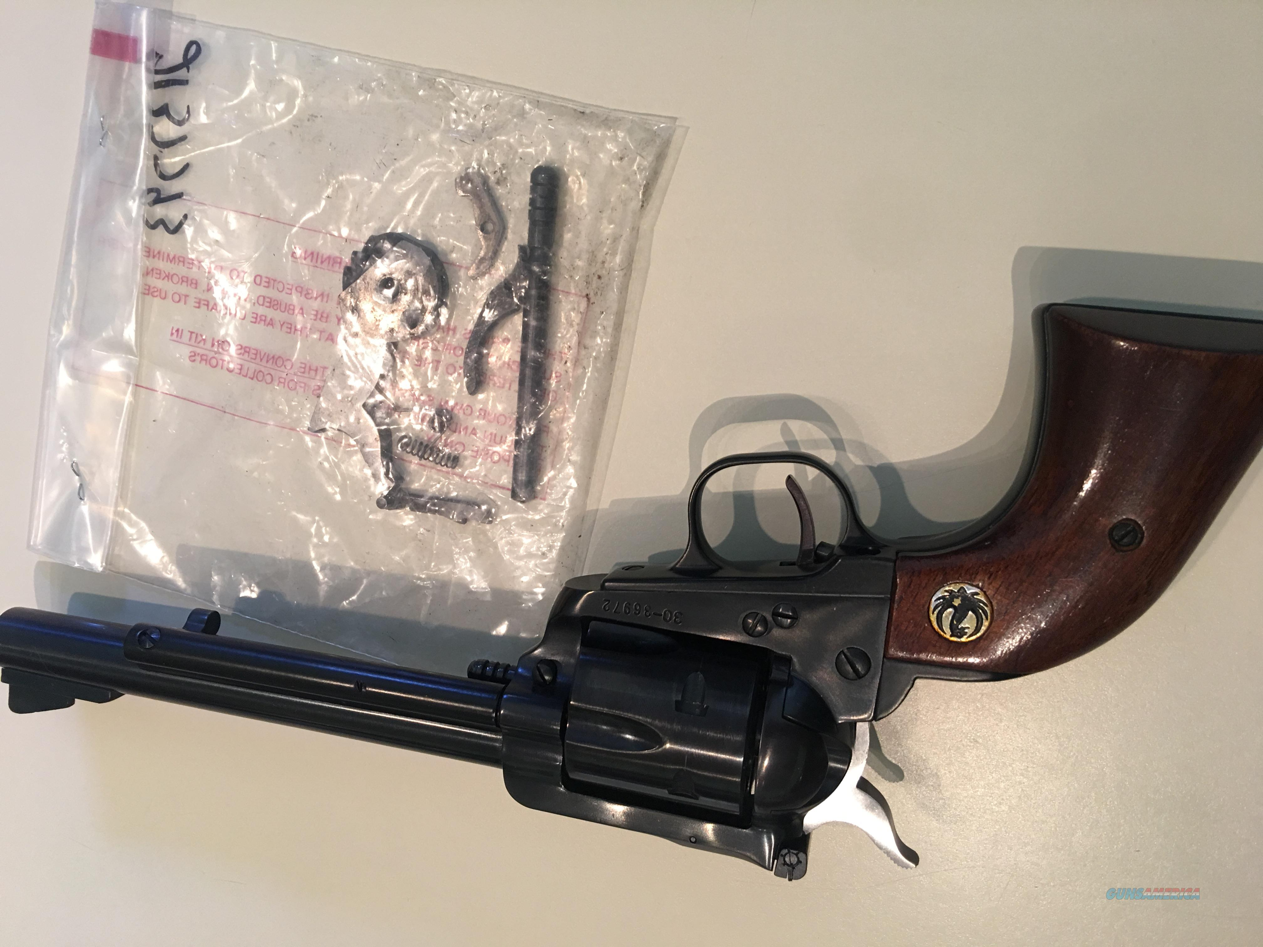 Blackhawk Old model 3 screw .357 6.5 in in excellent cond.  Guns > Pistols > Ruger Single Action Revolvers > Blackhawk Type
