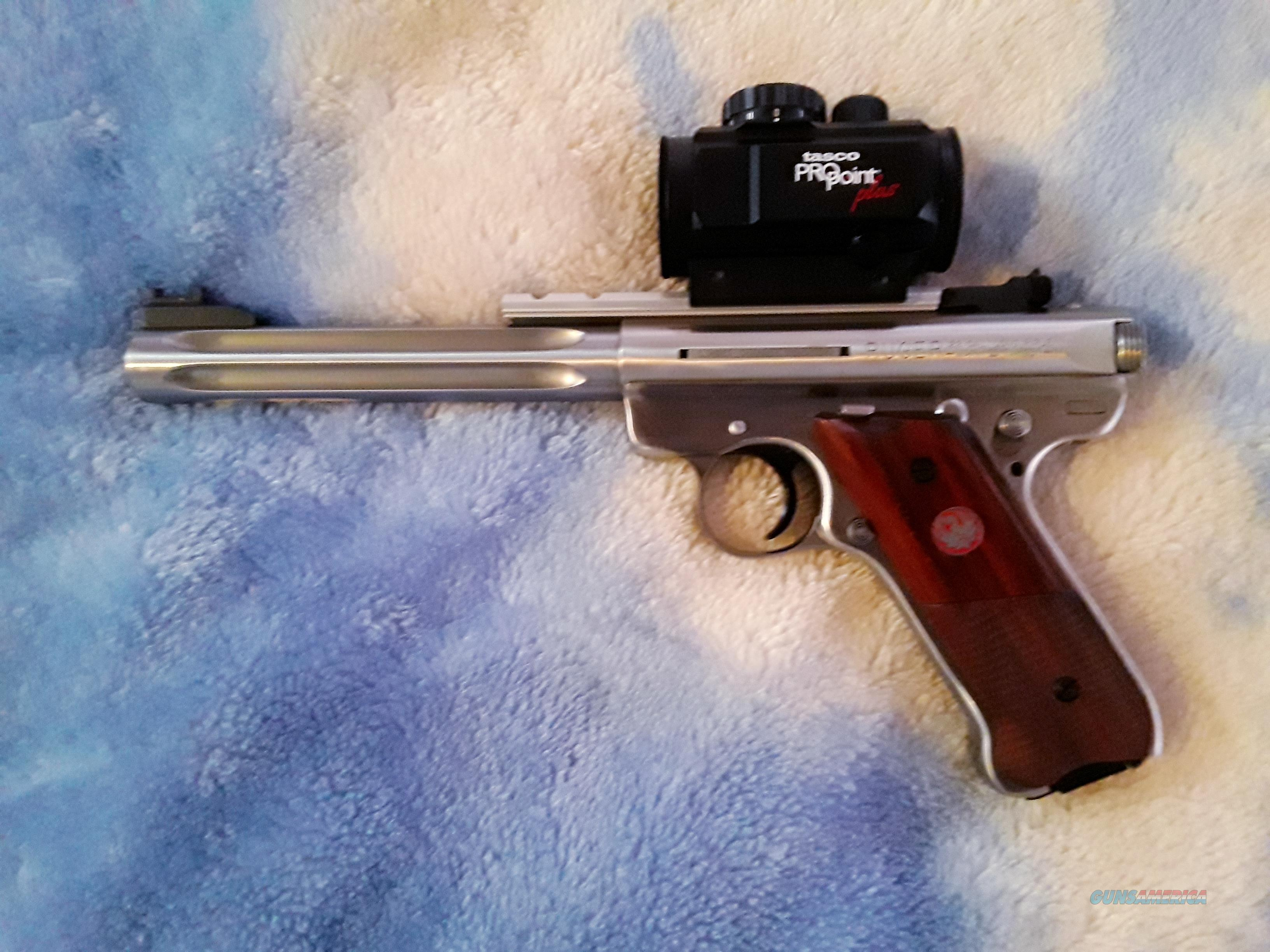 Mark III Hunter model in like new condition   Guns > Pistols > Ruger Semi-Auto Pistols > Mark I/II/III/IV Family