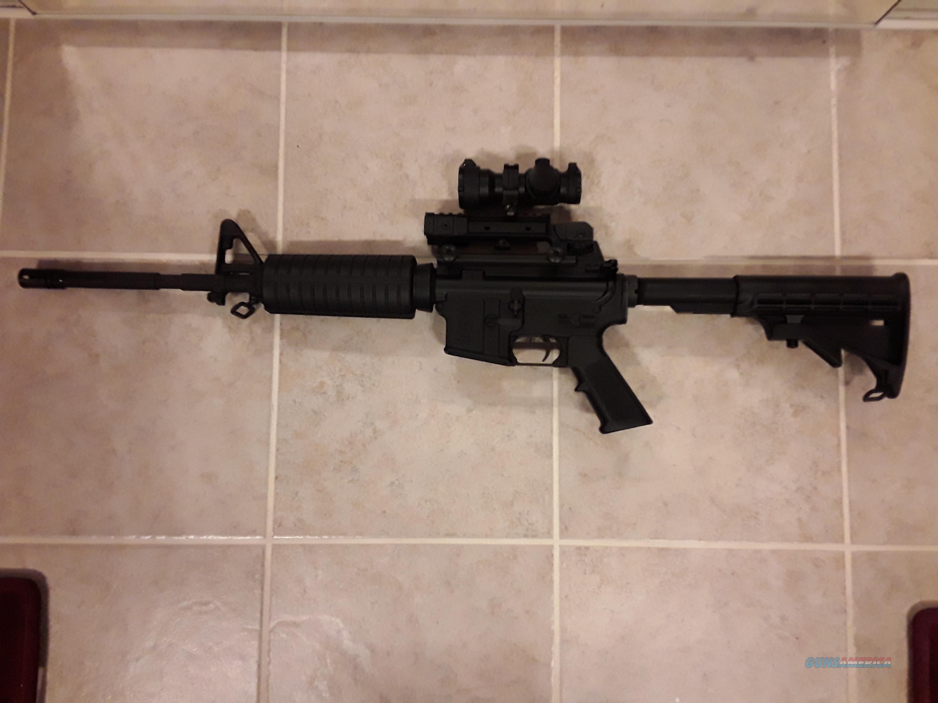 Lauer Custom Weaponry LE AR15 CHROMED BARREL.  Guns > Rifles > AR-15 Rifles - Small Manufacturers > Complete Rifle
