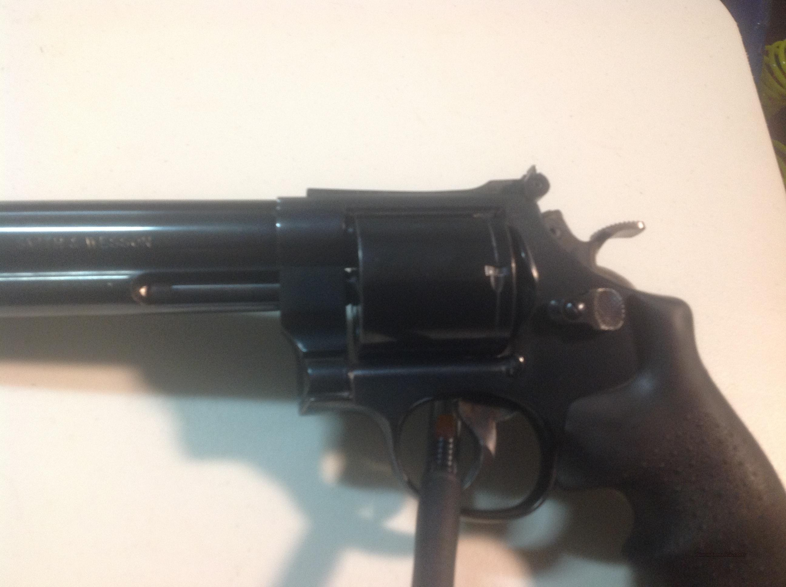 S&W M29 44 Magnum 8 3/8 inch/full barrel lug.   Guns > Pistols > Smith & Wesson Revolvers > Full Frame Revolver